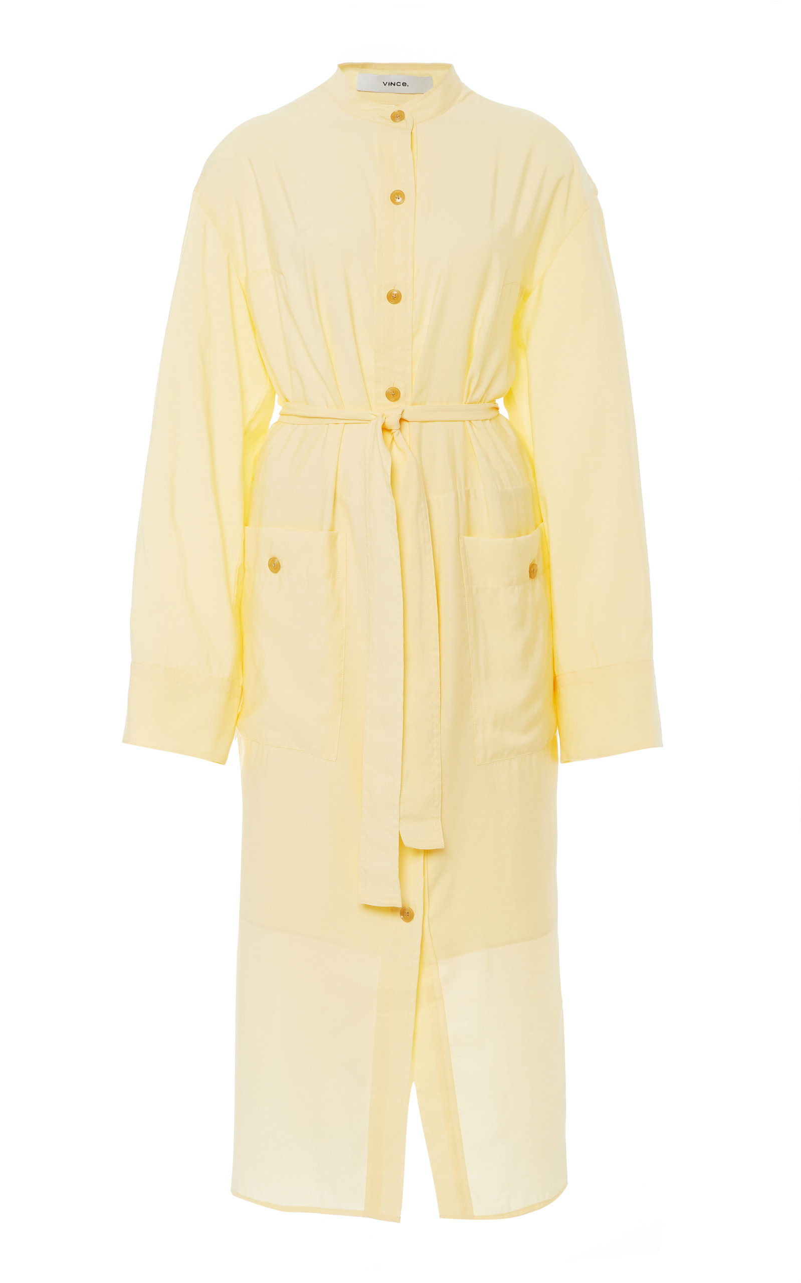 Buy Vince Lightweight Button-Down Poplin Maxi Dress online, shop Vince at the best price