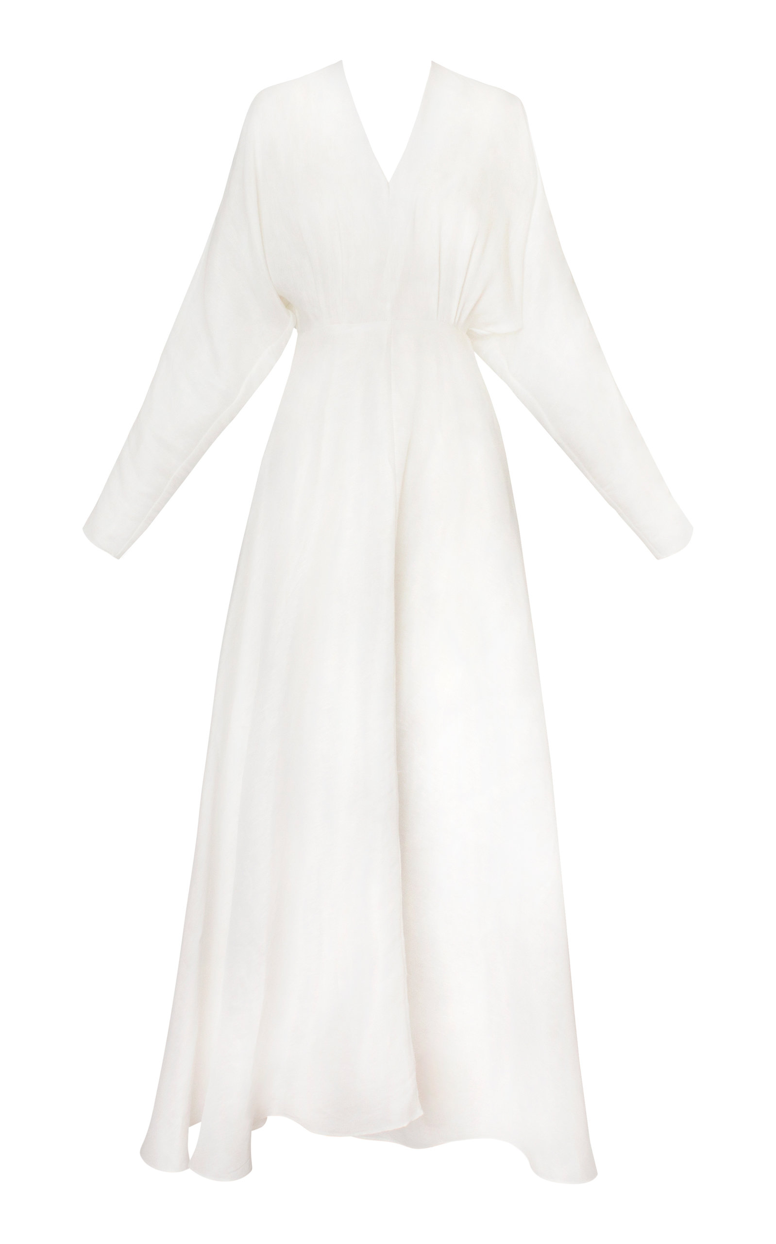 Buy Alejandra Alonso Rojas Linen-Blend Dress online, shop Alejandra Alonso Rojas at the best price