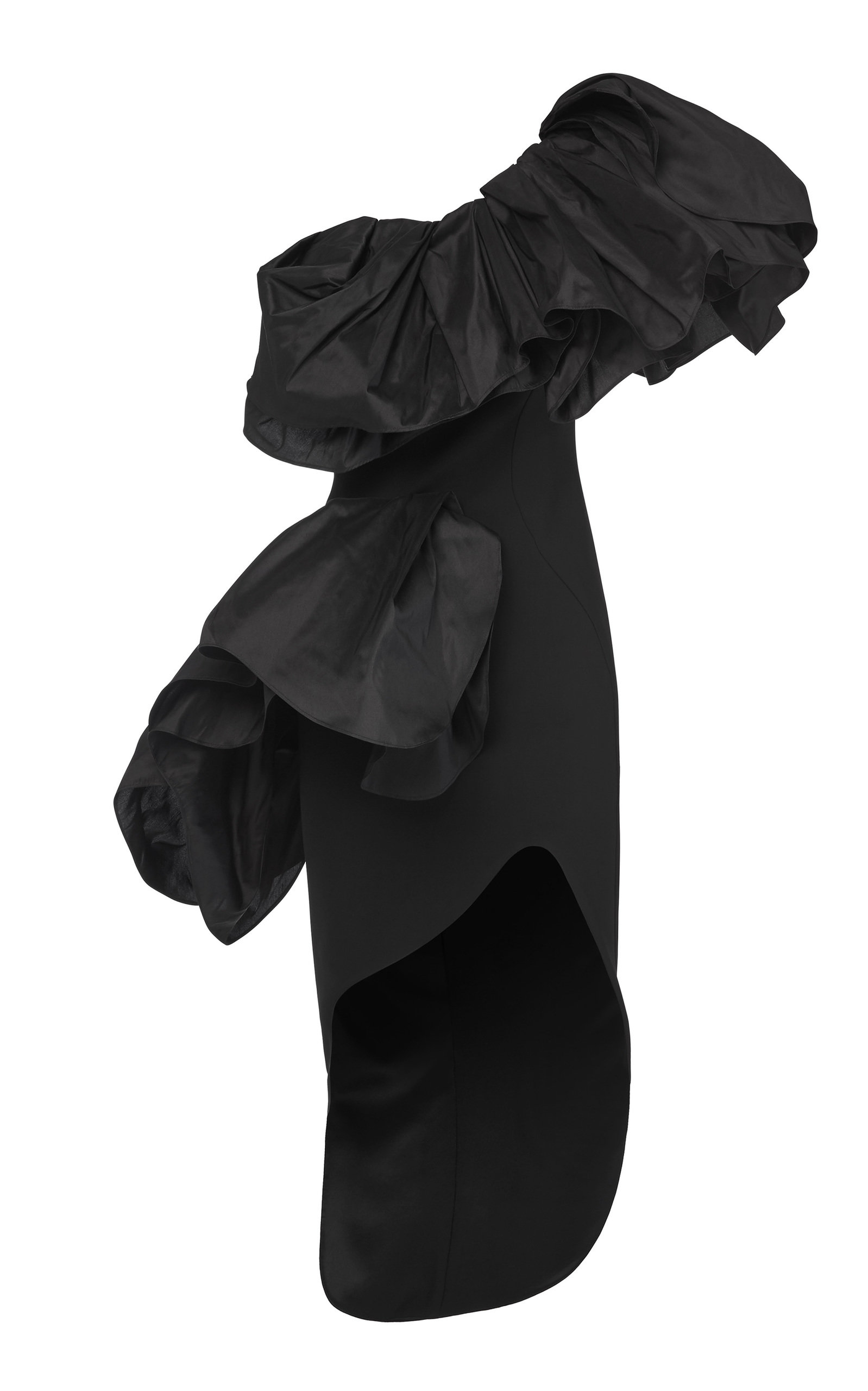 Buy Maticevski Attentive Ruffled Taffeta Dress online, shop Maticevski at the best price