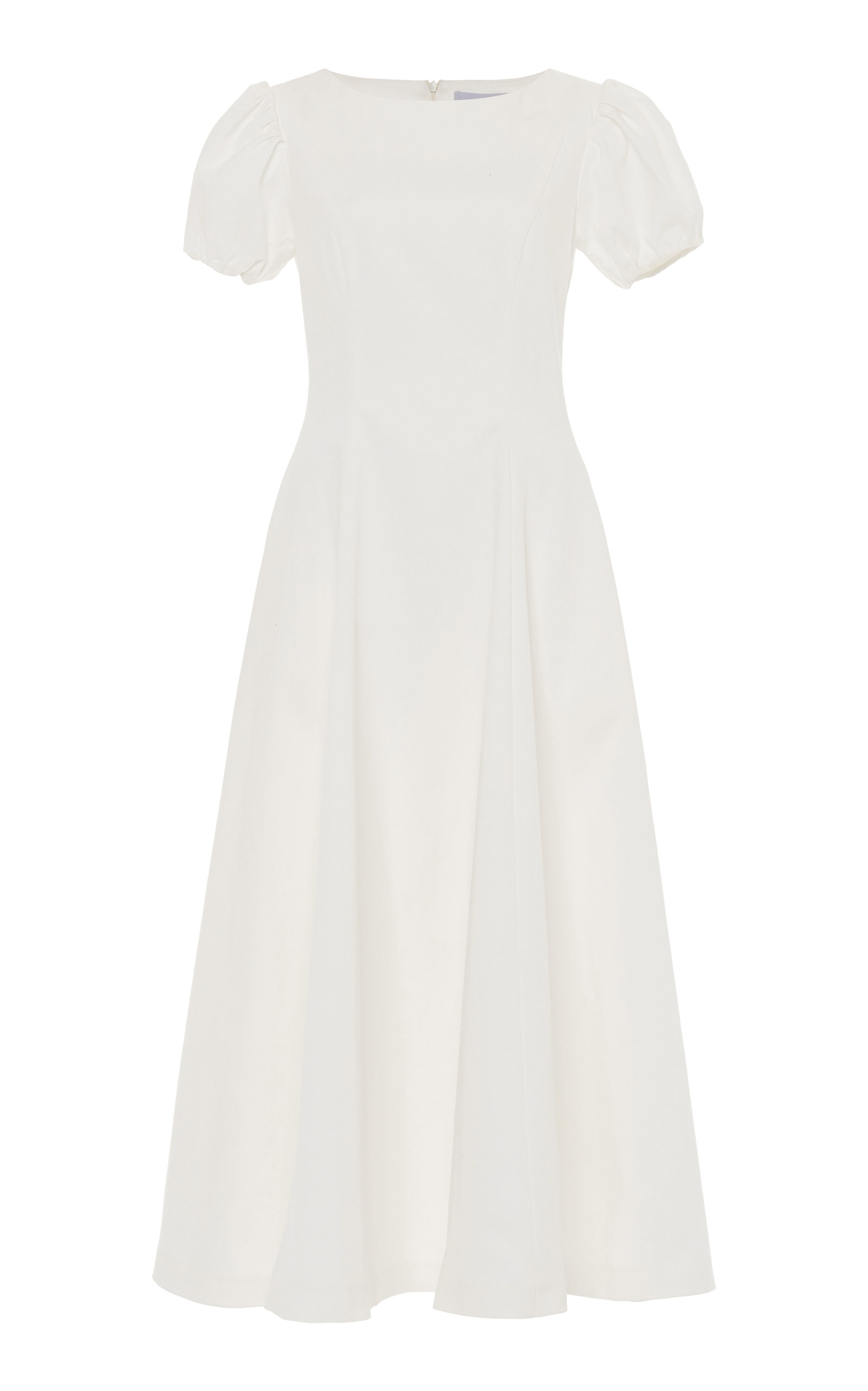 Buy Luisa Beccaria Stretch Cotton-Blend Midi Dress online, shop Luisa Beccaria at the best price