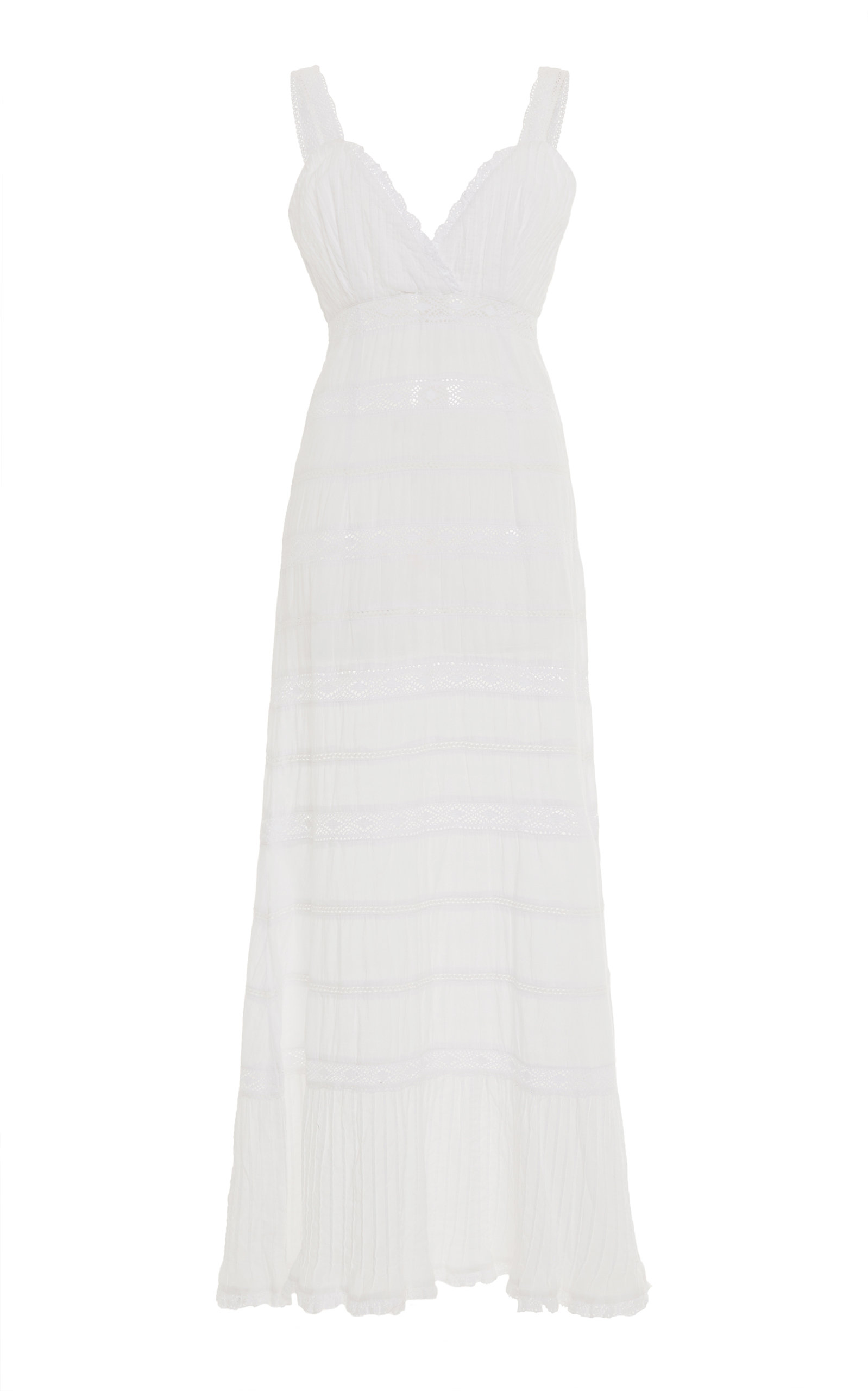 Buy Luisa Beccaria Cotton Dress online, shop Luisa Beccaria at the best price