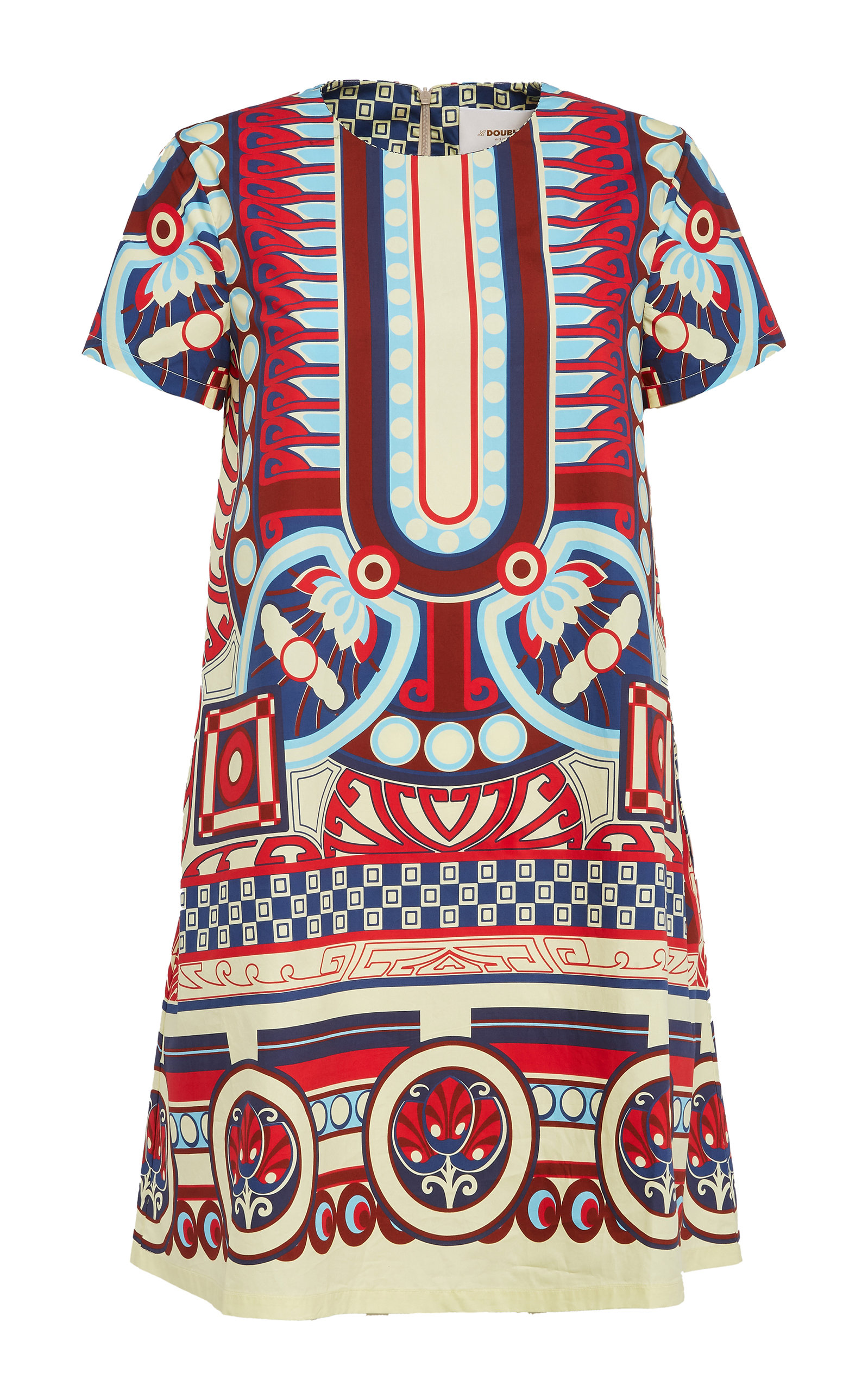Buy La DoubleJ Swing Printed Cotton Mini Dress online, shop La DoubleJ at the best price