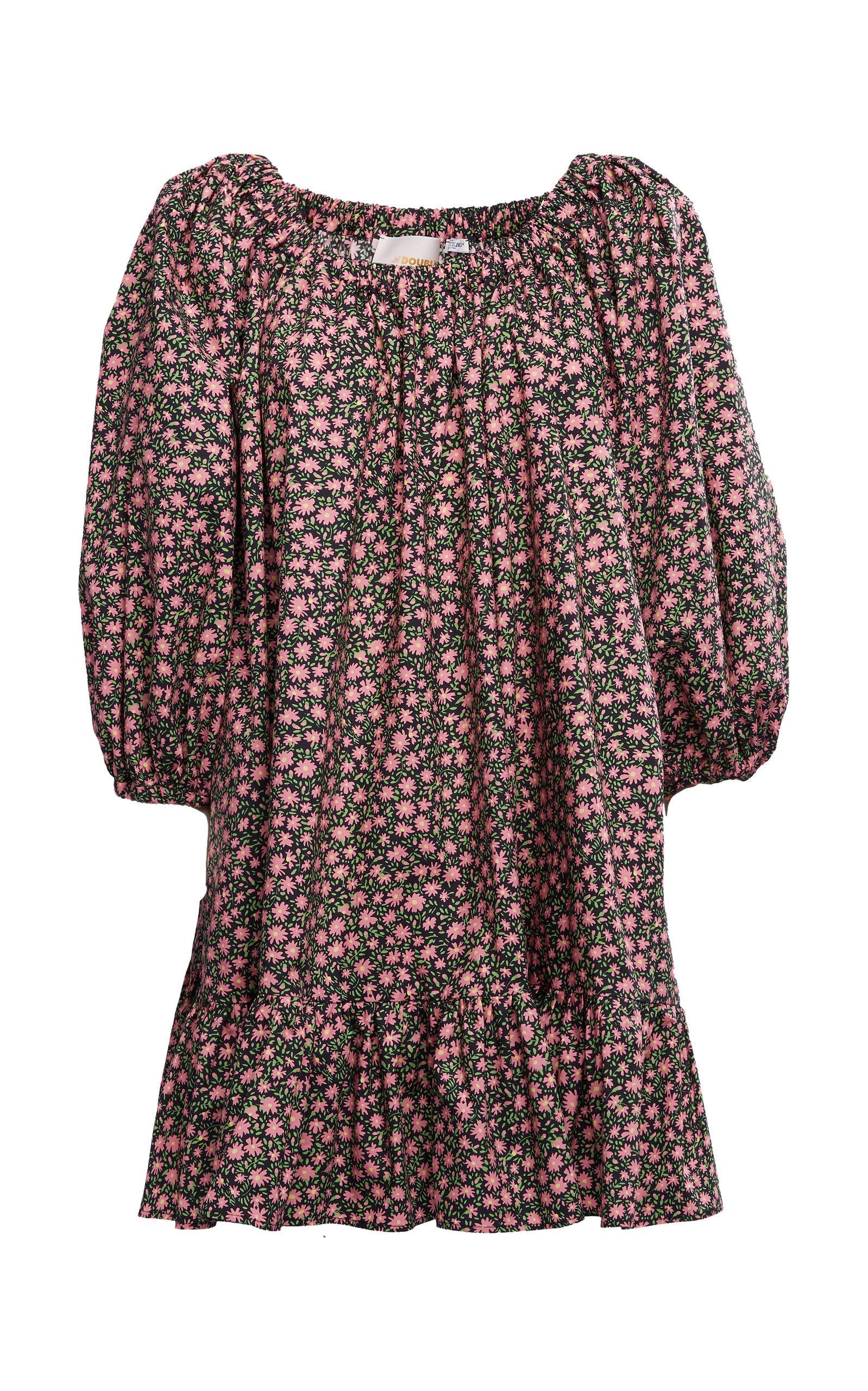 Buy La DoubleJ Paloma Off-The-Shoulder Cotton Mini Dress online, shop La DoubleJ at the best price