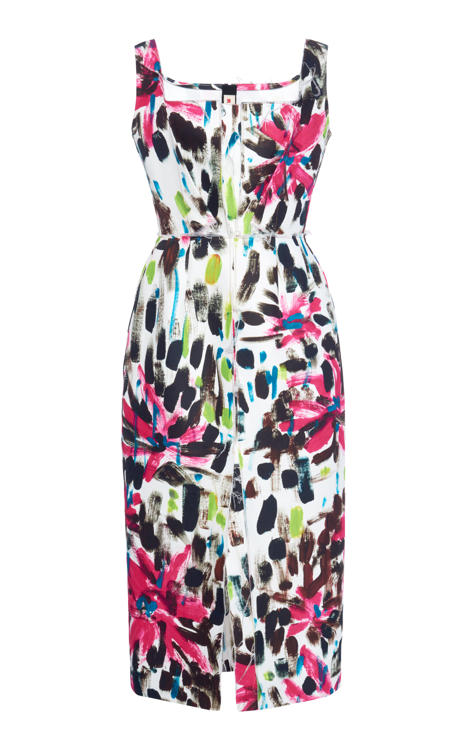 Buy Marni Printed Cotton Midi Dress online, shop Marni at the best price