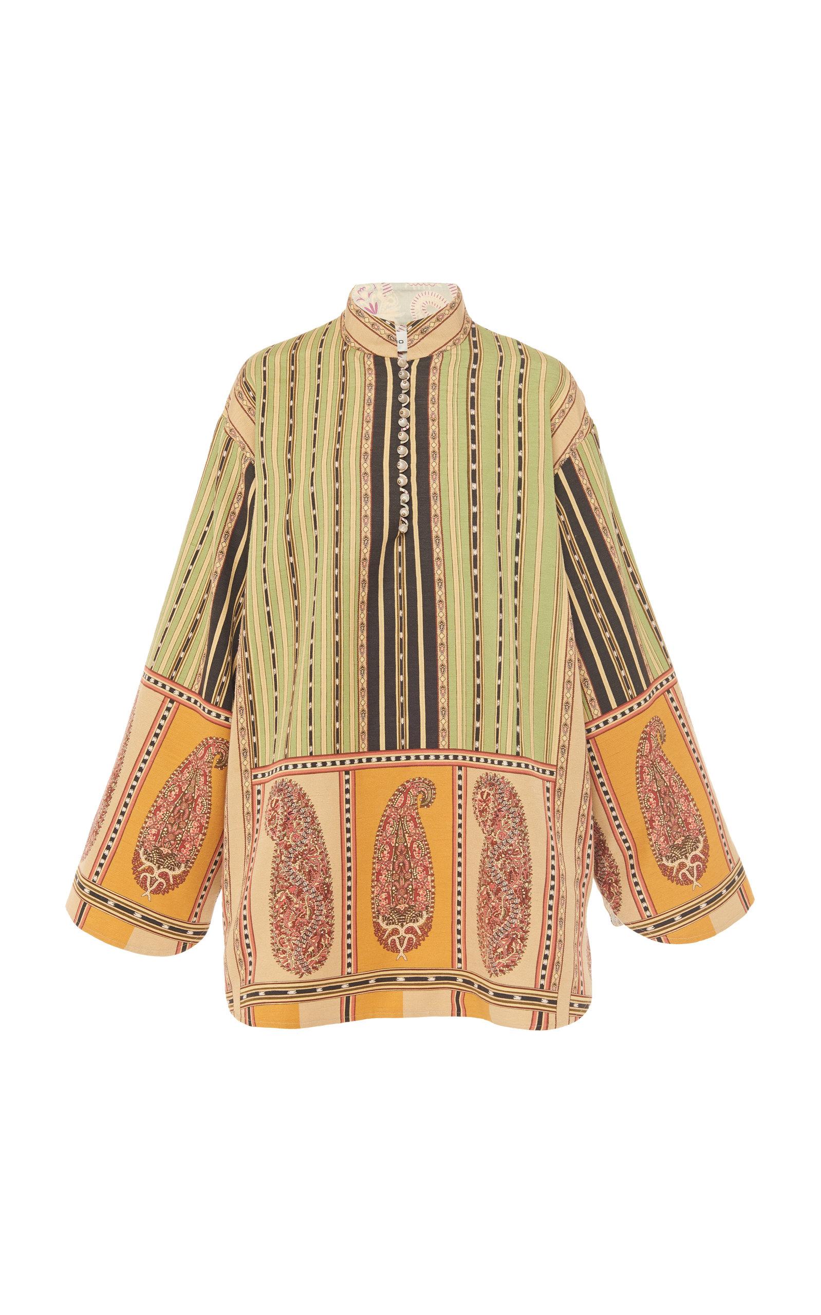 Buy Etro Printed Silk-Blend Mini Dress online, shop Etro at the best price