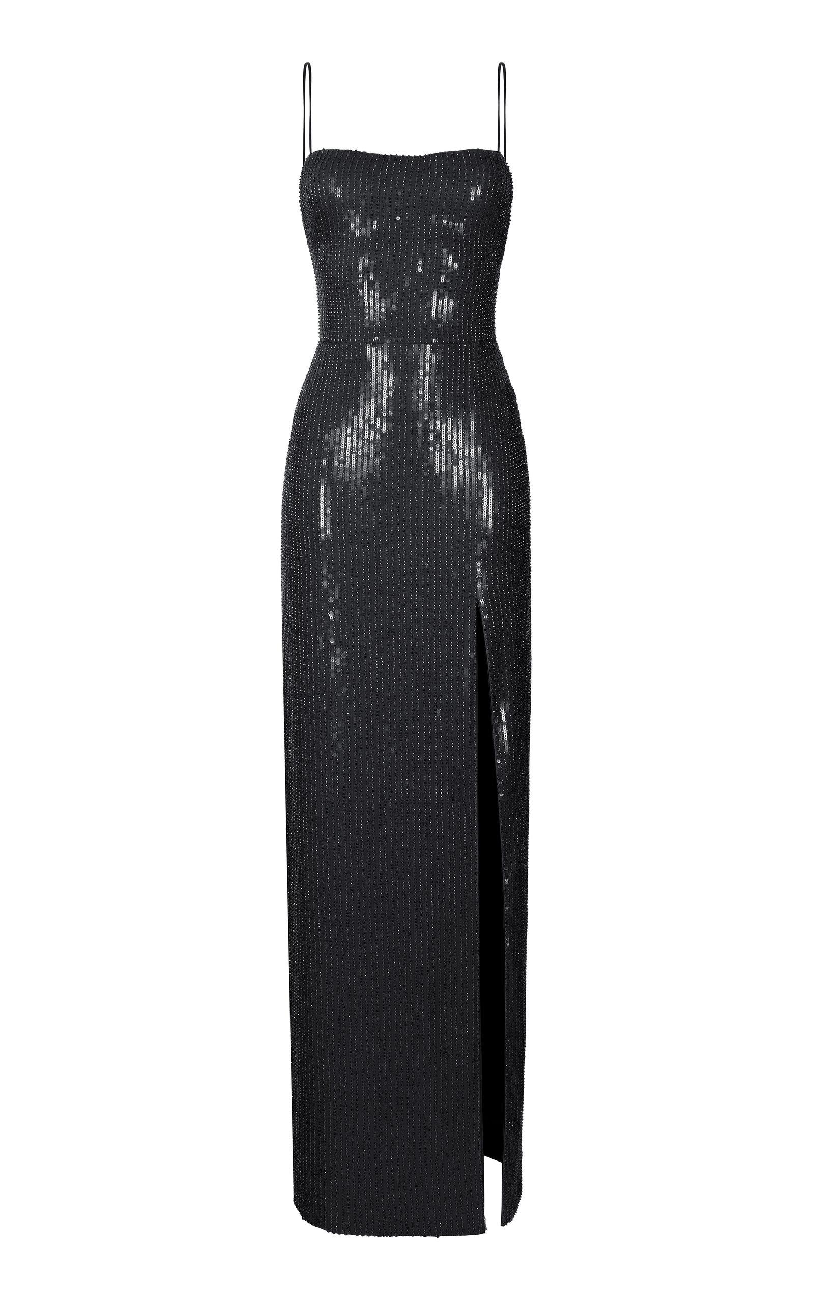 Buy Rasario Sequined Slip Gown online, shop Rasario at the best price