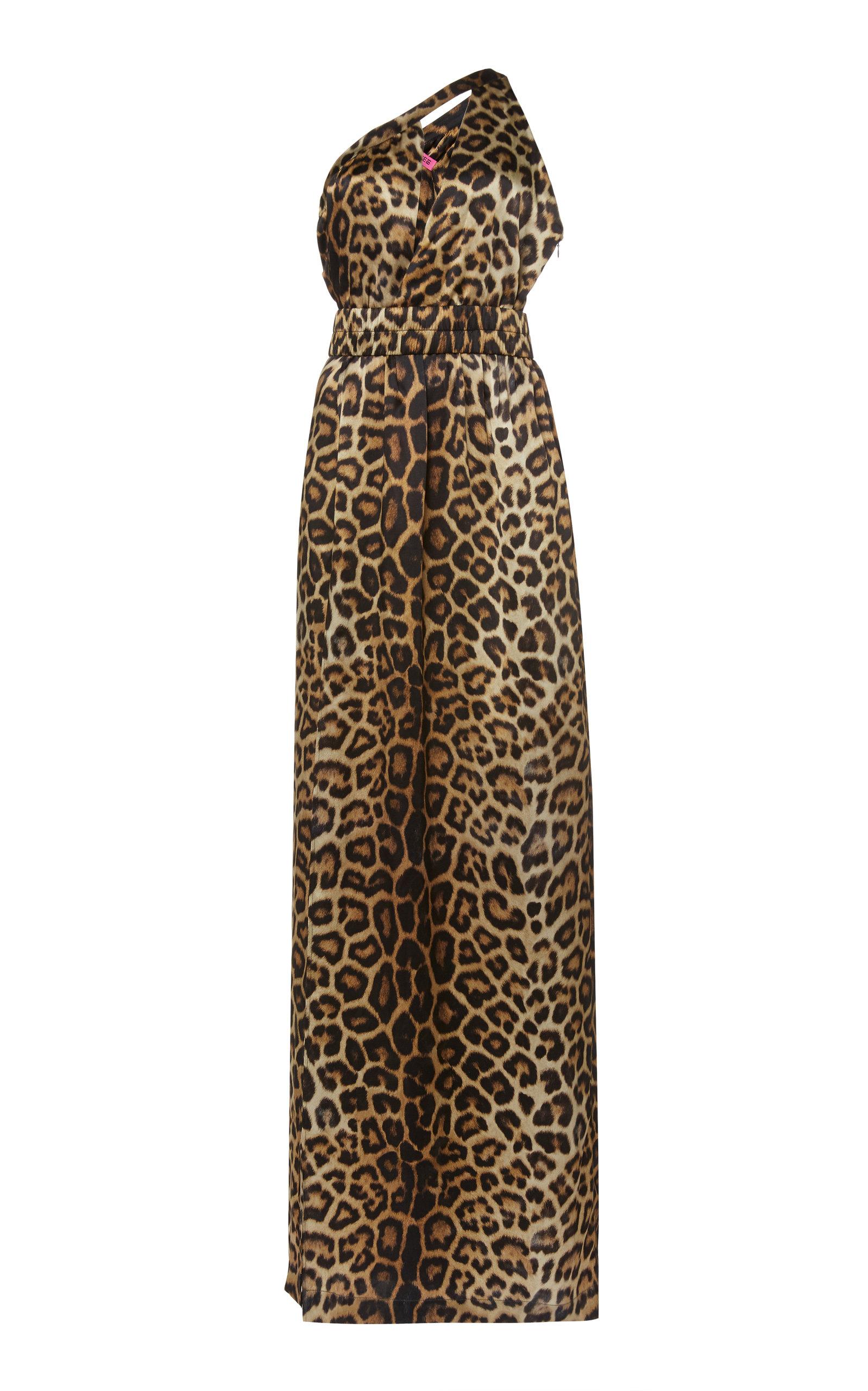 Buy Gauge81 Tokyo Leopard-Print Silk Satin Dress online, shop Gauge81 at the best price