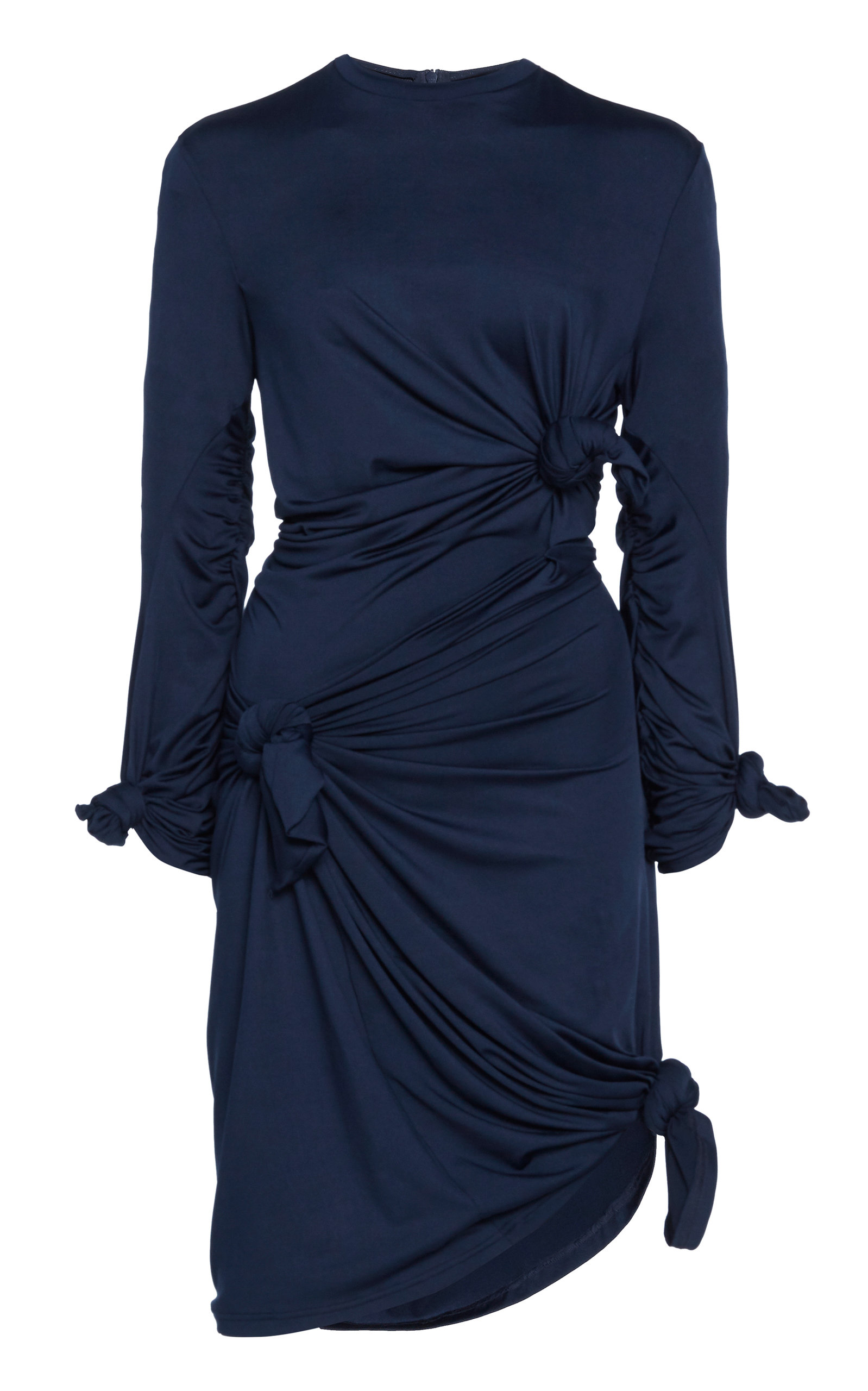 Buy Rokh Knot-Detailed Jersey Dress online, shop Rokh at the best price