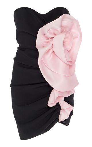 Alexandre Vauthier Mini dresses Gathered Two-Tone Crepe Mini Dress