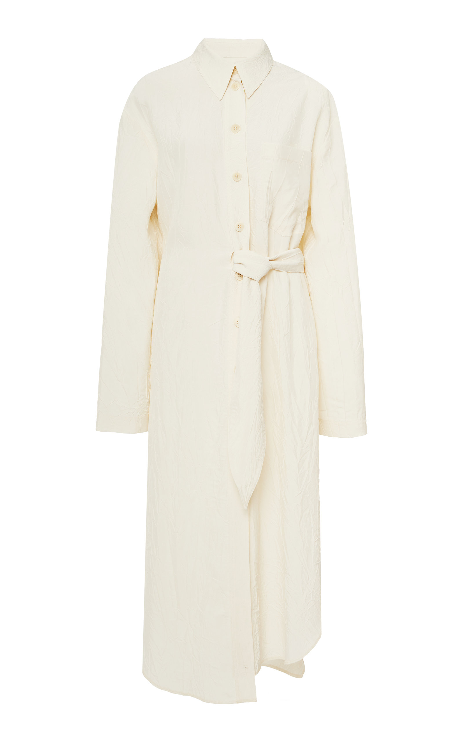 Buy Nanushka Mona Belted Midi Dress online, shop Nanushka at the best price