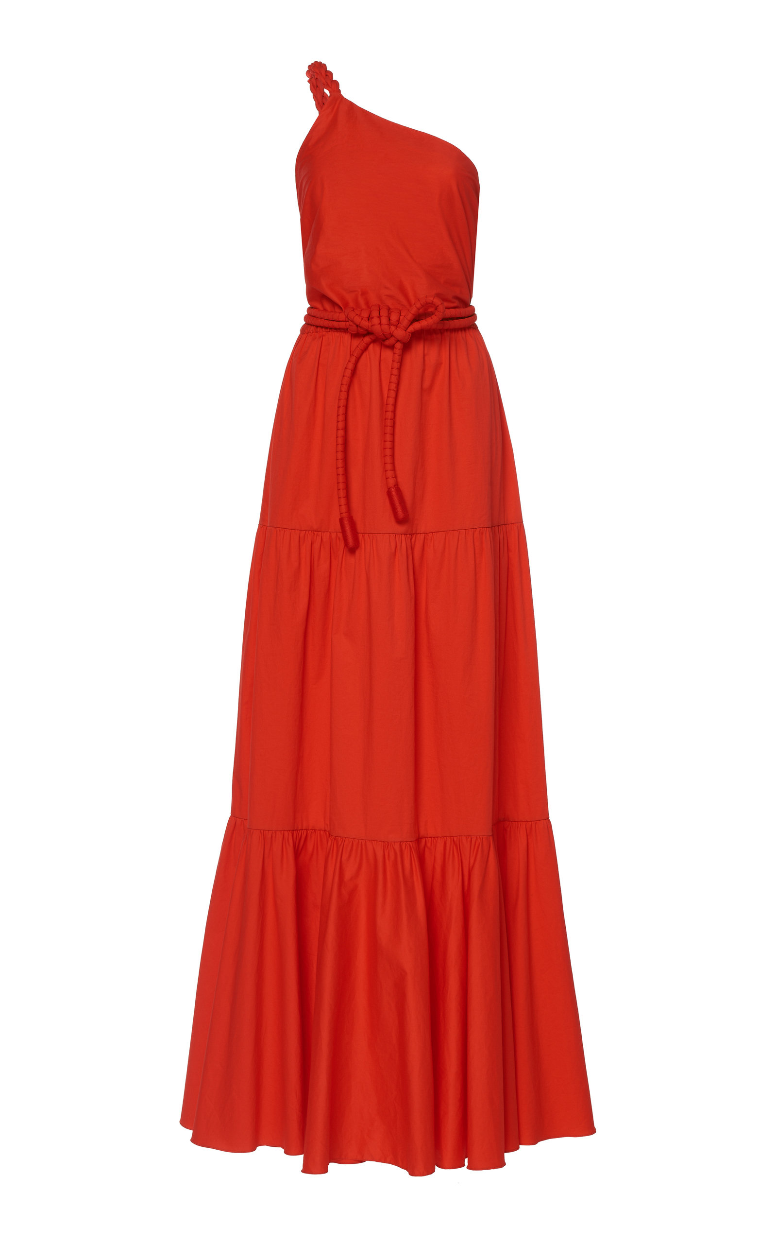 Buy Johanna Ortiz Colorful Flourishes Cotton-Blend Maxi Dress online, shop Johanna Ortiz at the best price
