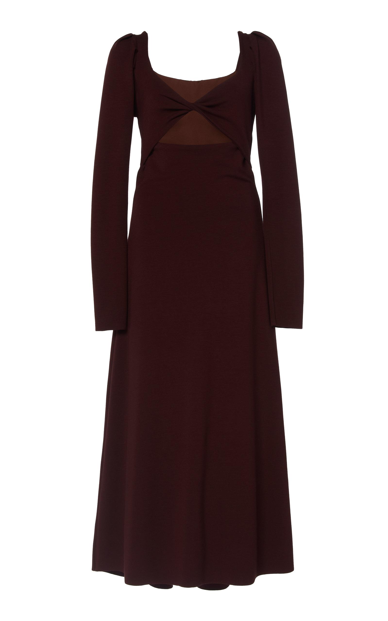 Buy Johanna Ortiz Philosophy Cutout Jersey Midi Dress online, shop Johanna Ortiz at the best price