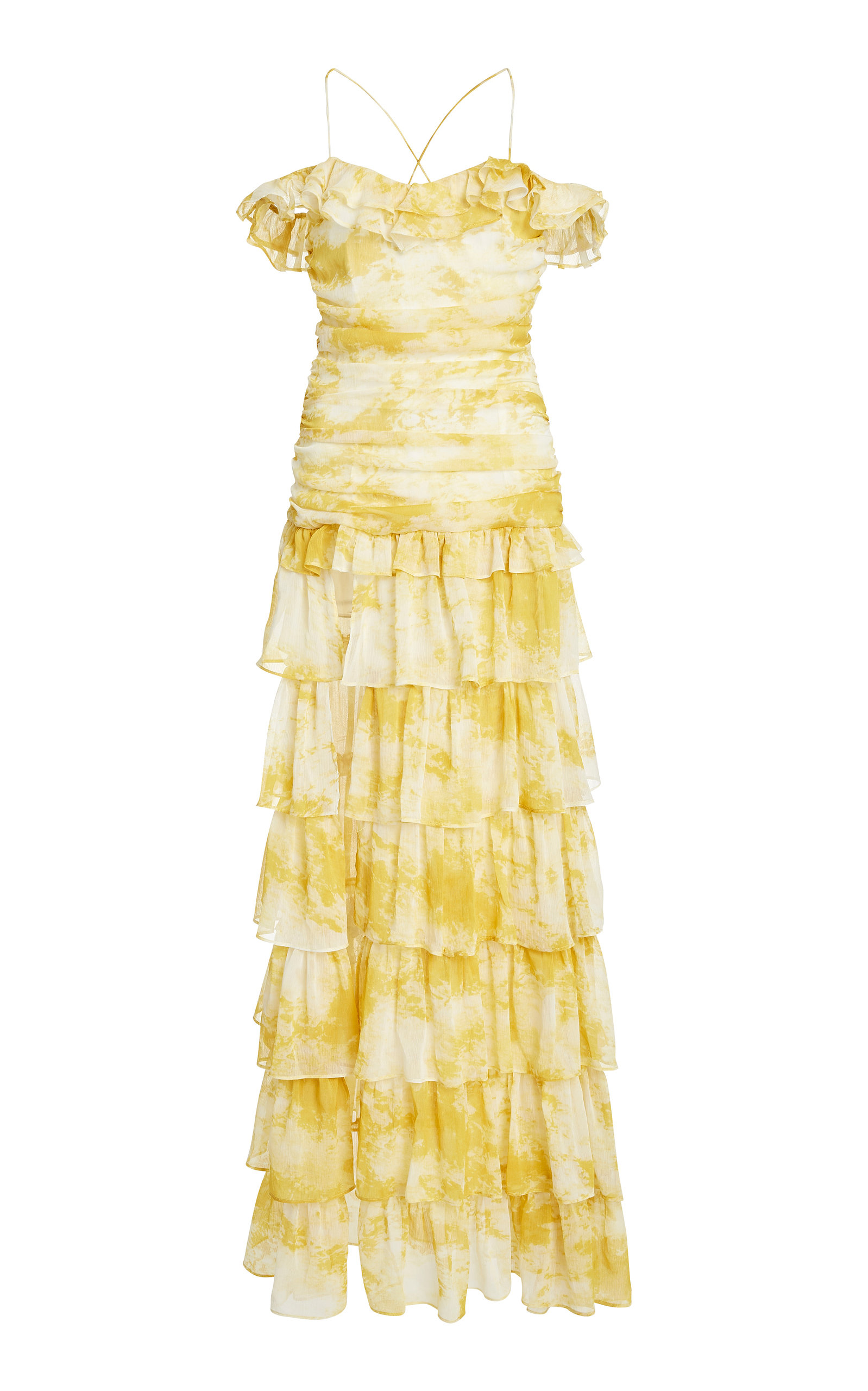 Buy Atoir Back to Love Tiered Ruffle Chiffon Dress online, shop Atoir at the best price