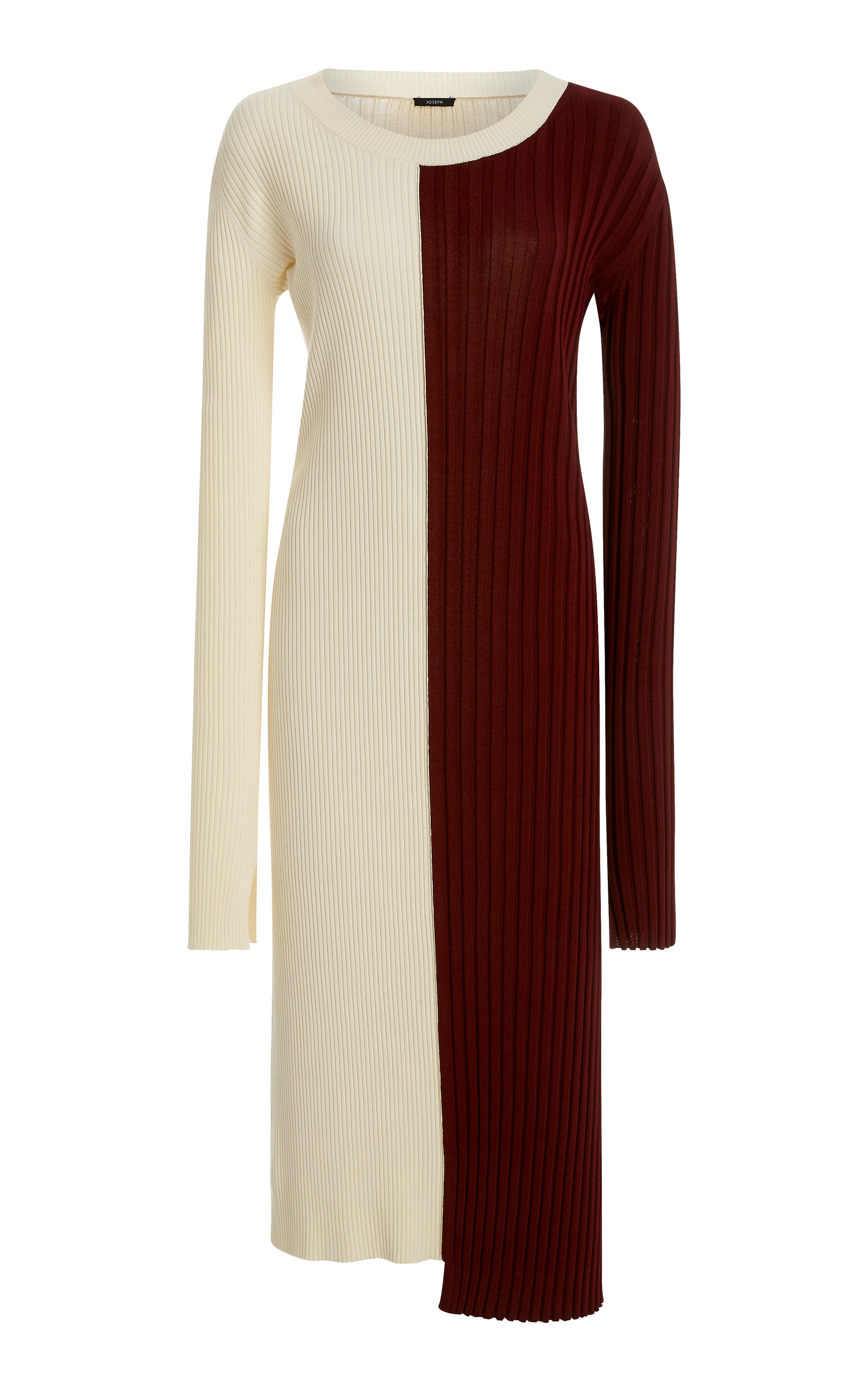 Buy Joseph Diane Color-Block Stretch-Knit Midi Dress online, shop Joseph at the best price