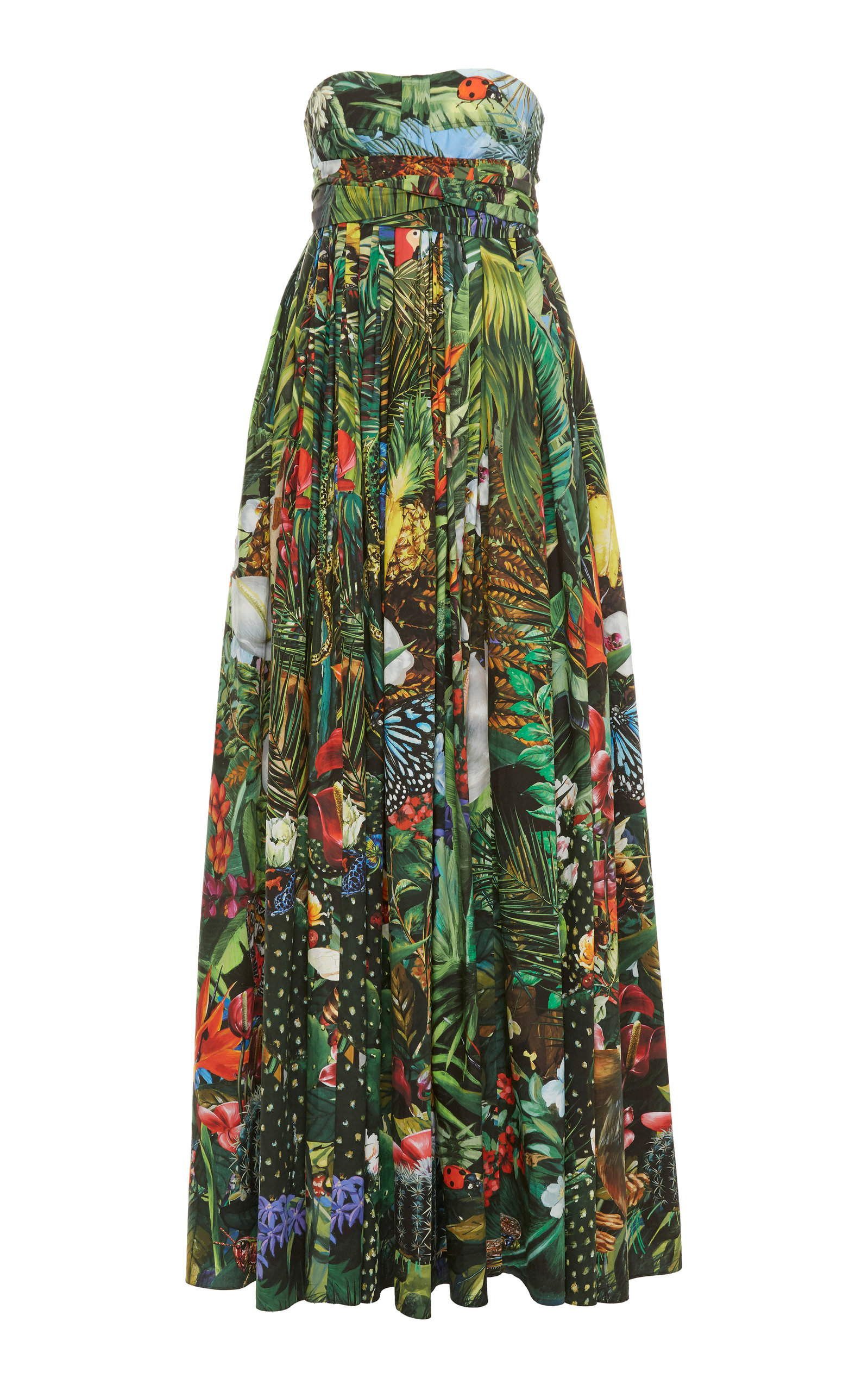 Buy Dolce & Gabbana Printed Maxi Dress online, shop Dolce & Gabbana at the best price