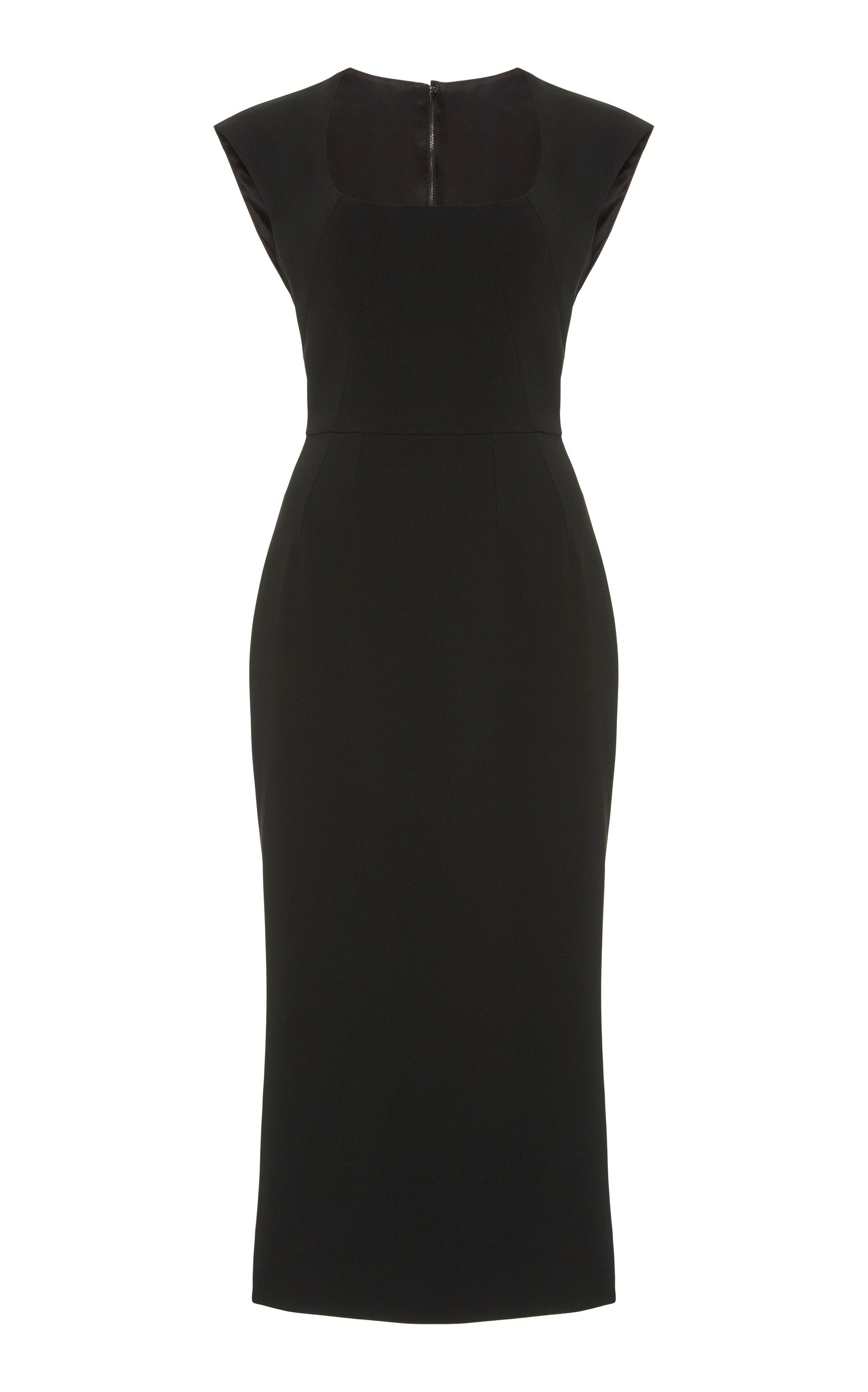 Buy Dolce & Gabbana Cady Midi Dress online, shop Dolce & Gabbana at the best price