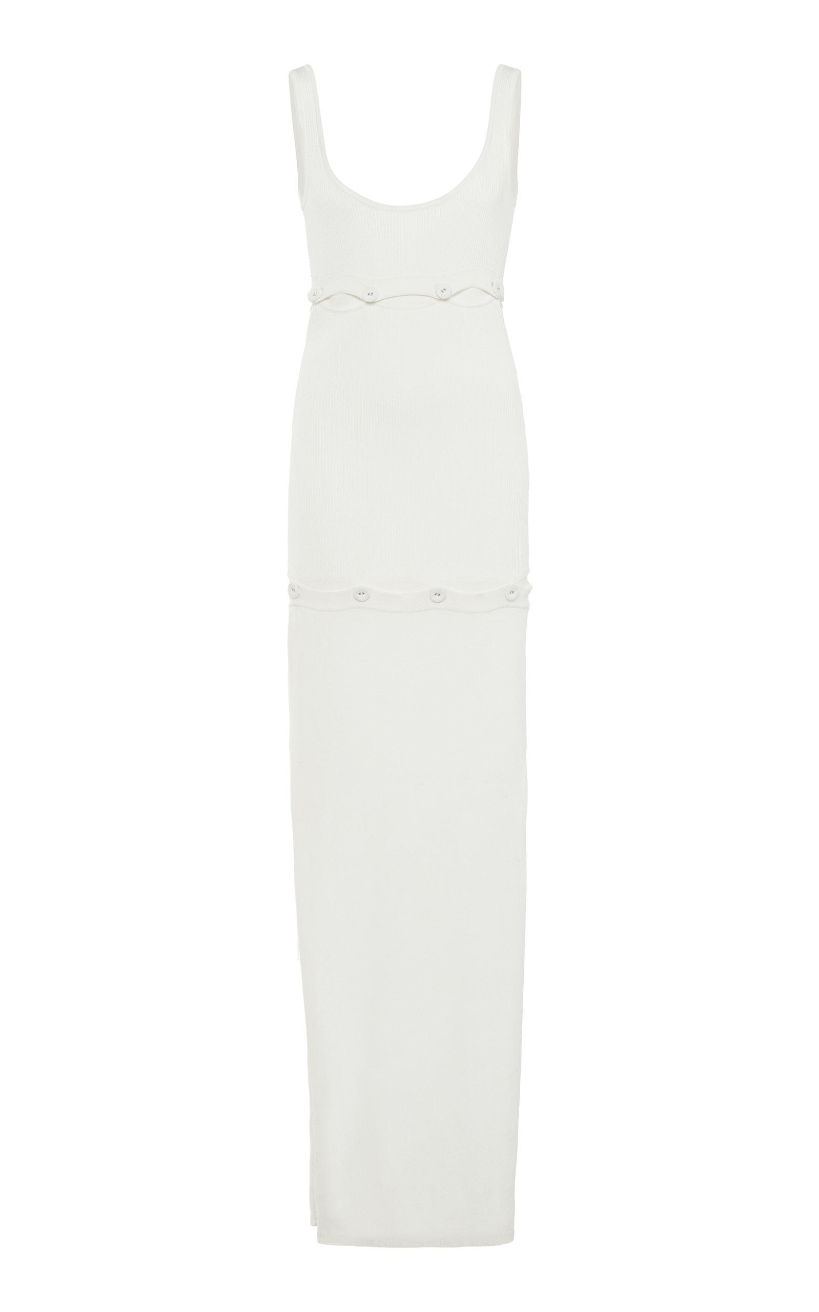 Buy Christopher Esber Deconstructed Ribbed-Knit Tank Dress online, shop Christopher Esber at the best price