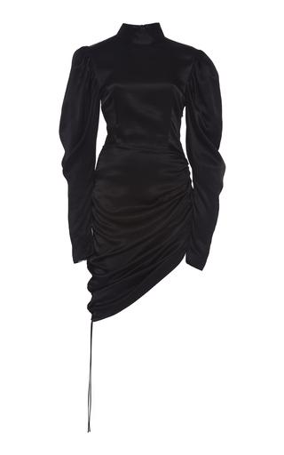 Materiel Dresses RUCHED SATIN MINI DRESS