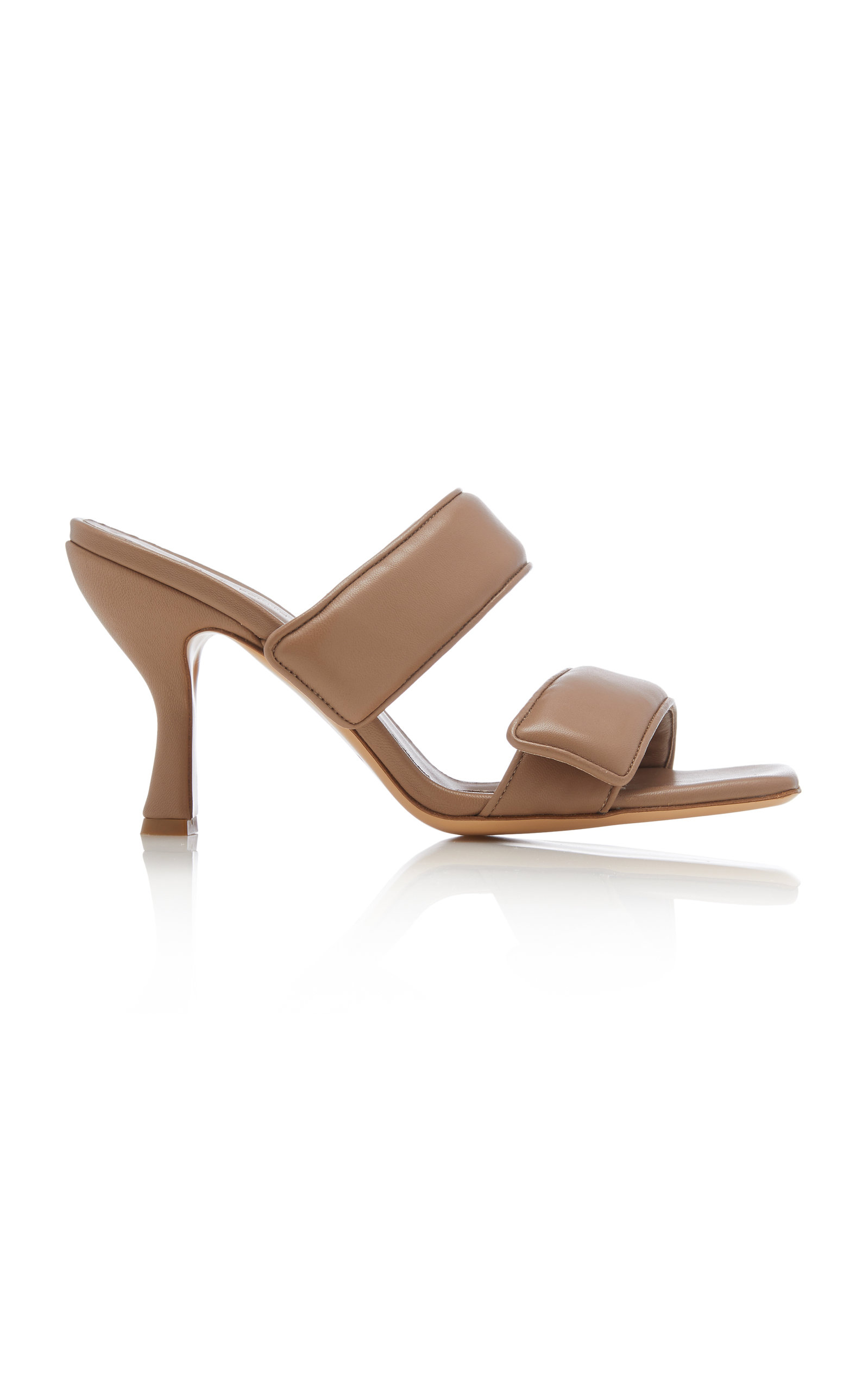 Gia X Pernille Teisbaek PADDED LEATHER SANDALS