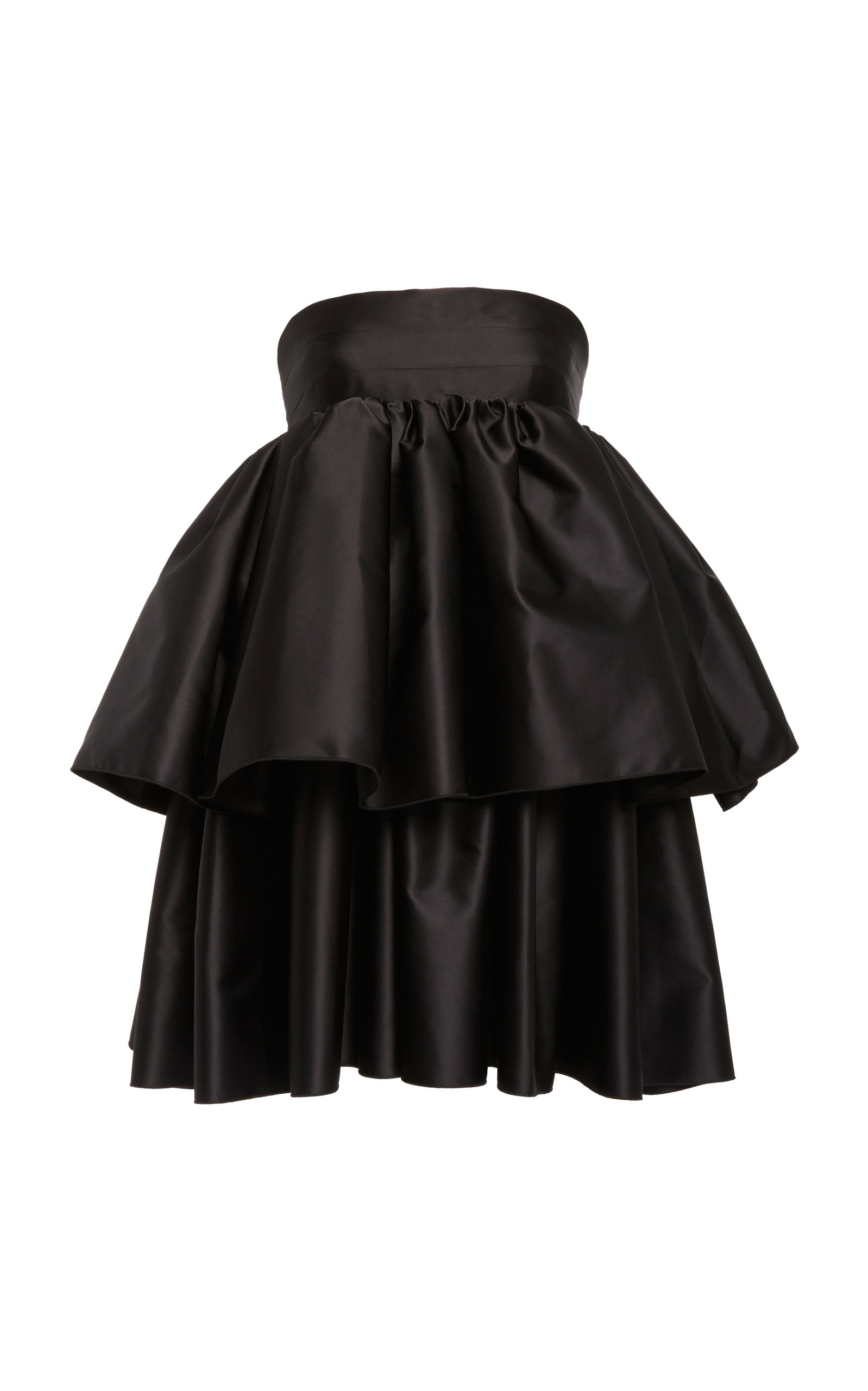 Buy ROTATE Carmina Ruffled Crepe Dress online, shop ROTATE at the best price