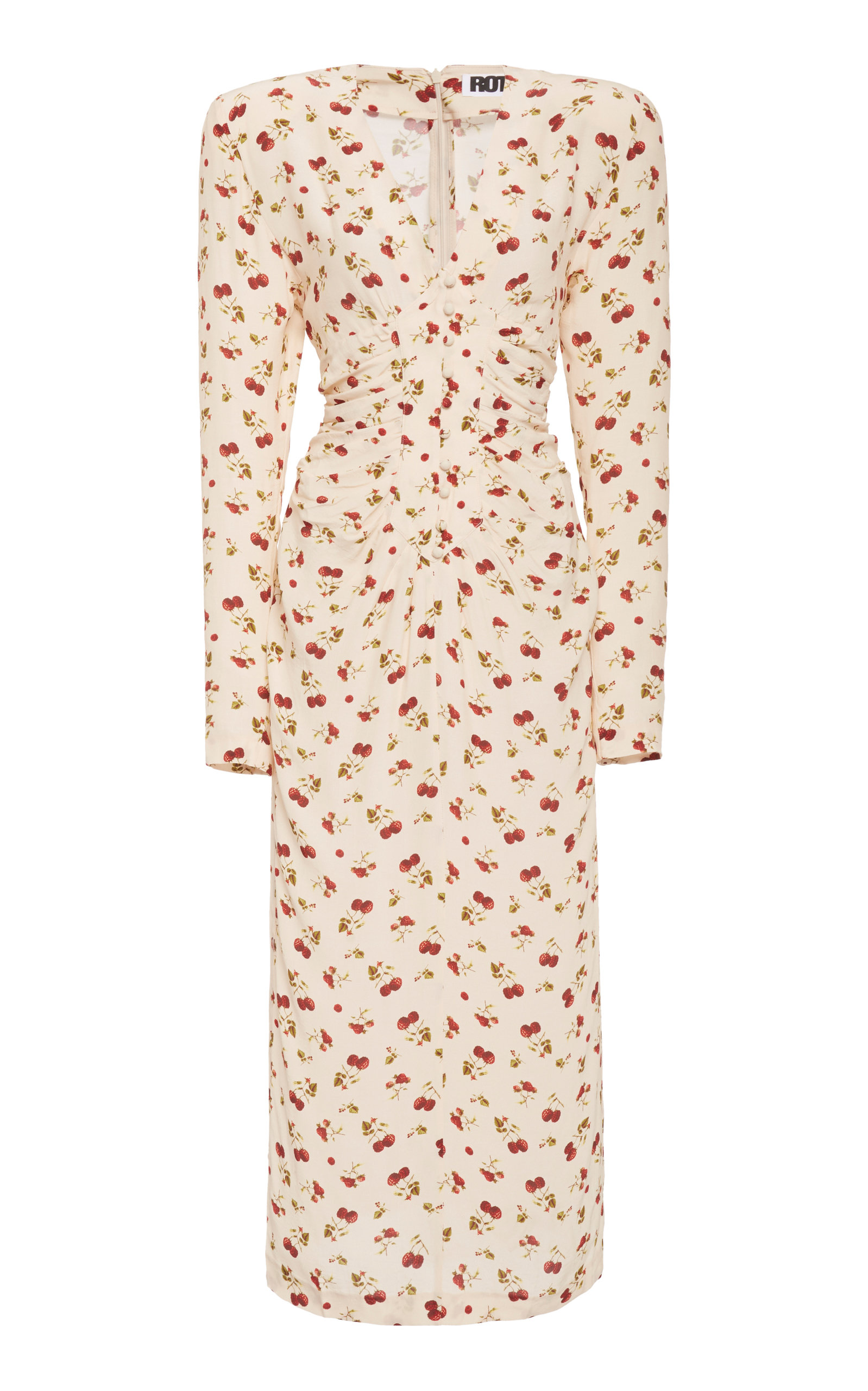 Buy ROTATE Heather Printed Crepe Dress online, shop ROTATE at the best price