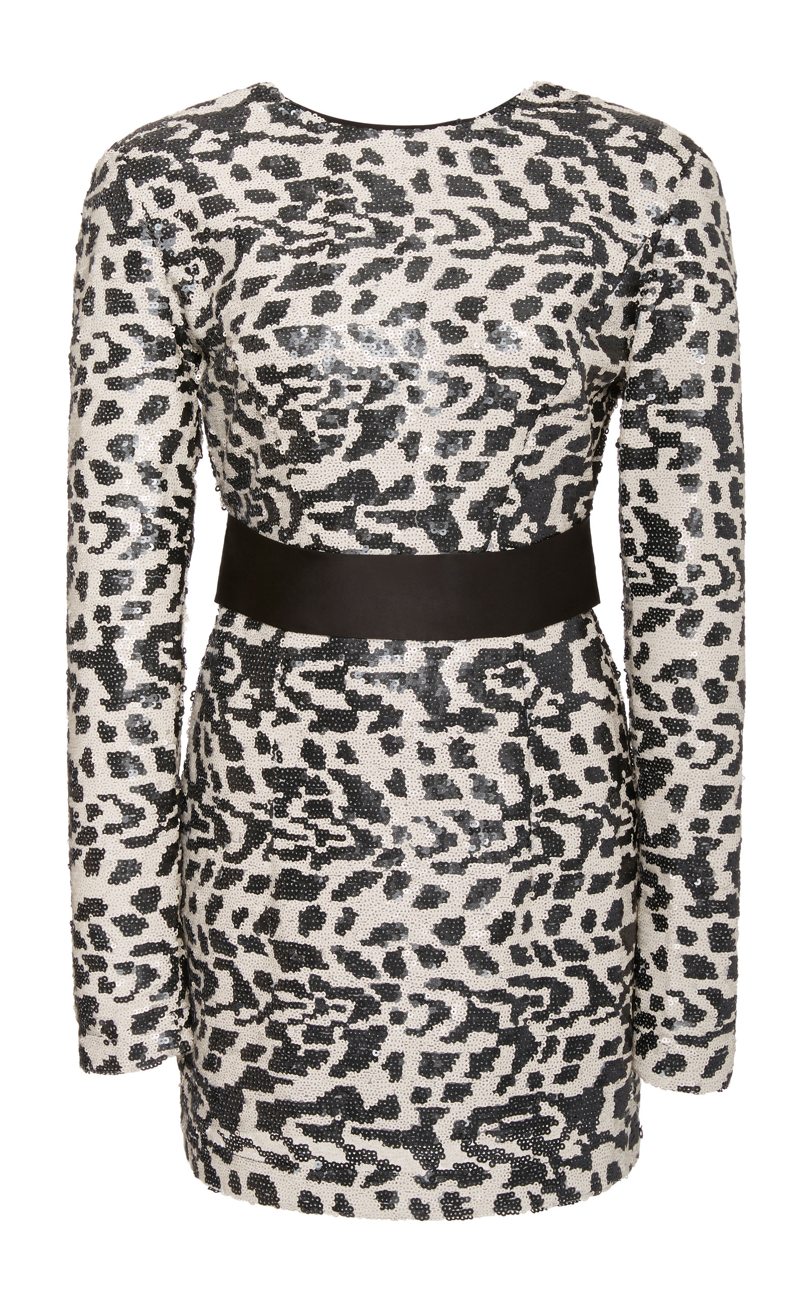 Buy ROTATE Wanda Animal-Print Sequined Dress online, shop ROTATE at the best price