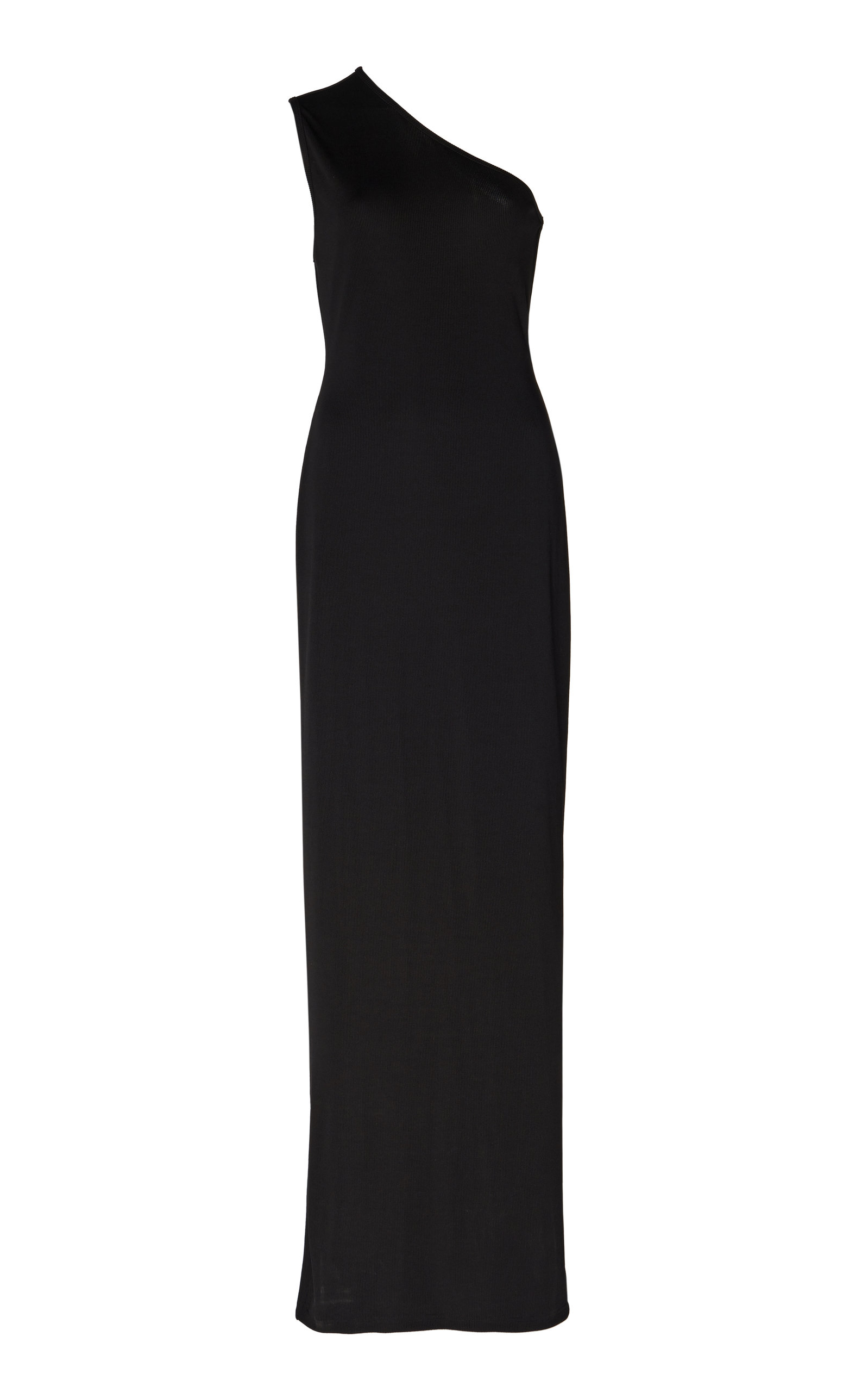 Buy Michael Lo Sordo Ribbed One-Shoulder Maxi Dress online, shop Michael Lo Sordo at the best price