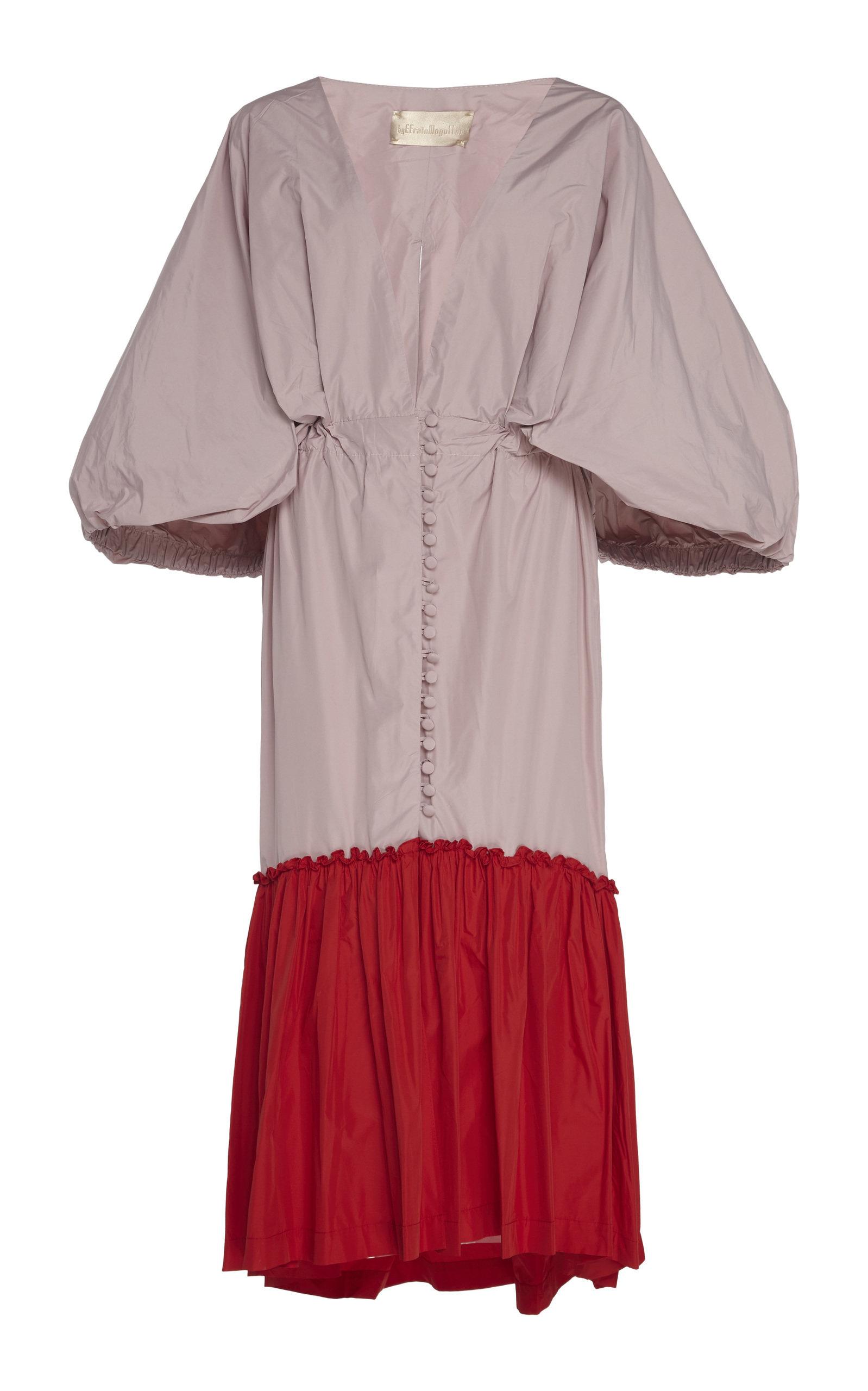 Buy By Efrain Mogollon Pietri Silk-Taffeta Dress online, shop By Efrain Mogollon at the best price