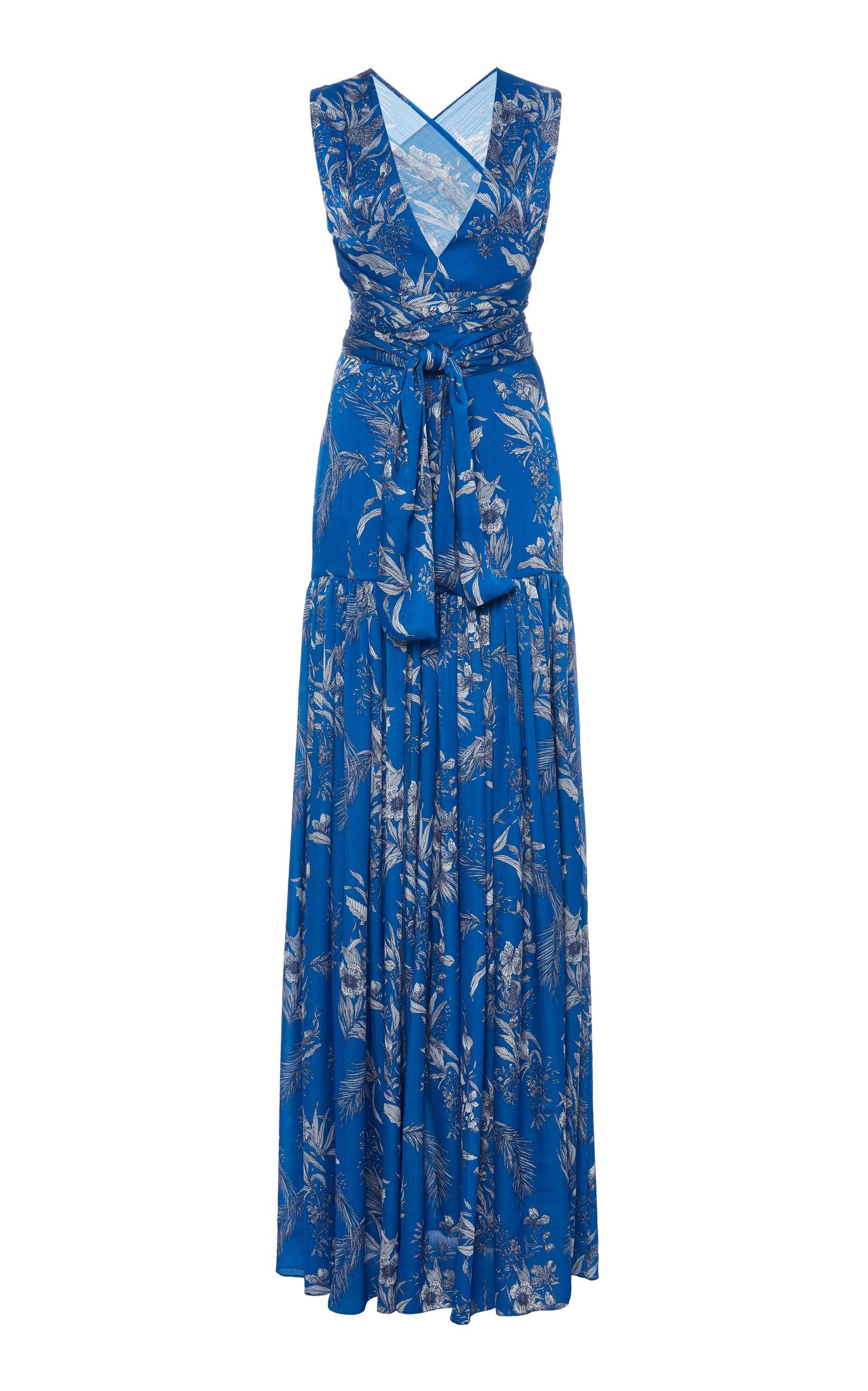 Buy Alexis Belaya Printed Georgette Dress online, shop Alexis at the best price