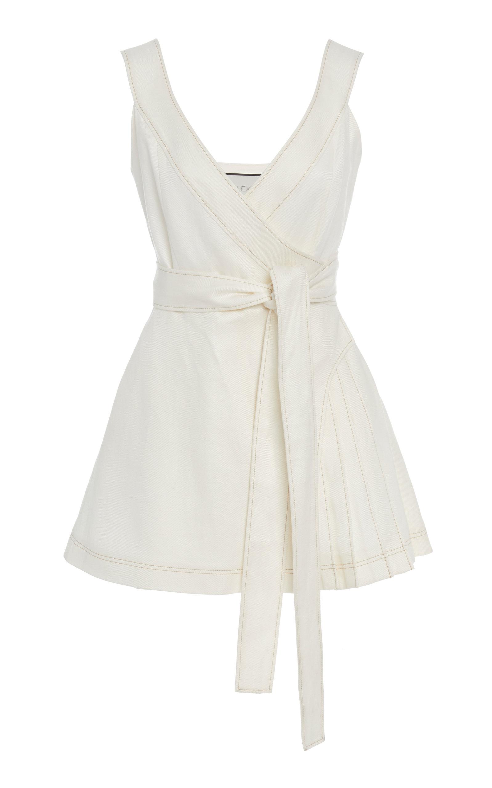 Buy Alexis Catia Linen Mini Dress online, shop Alexis at the best price