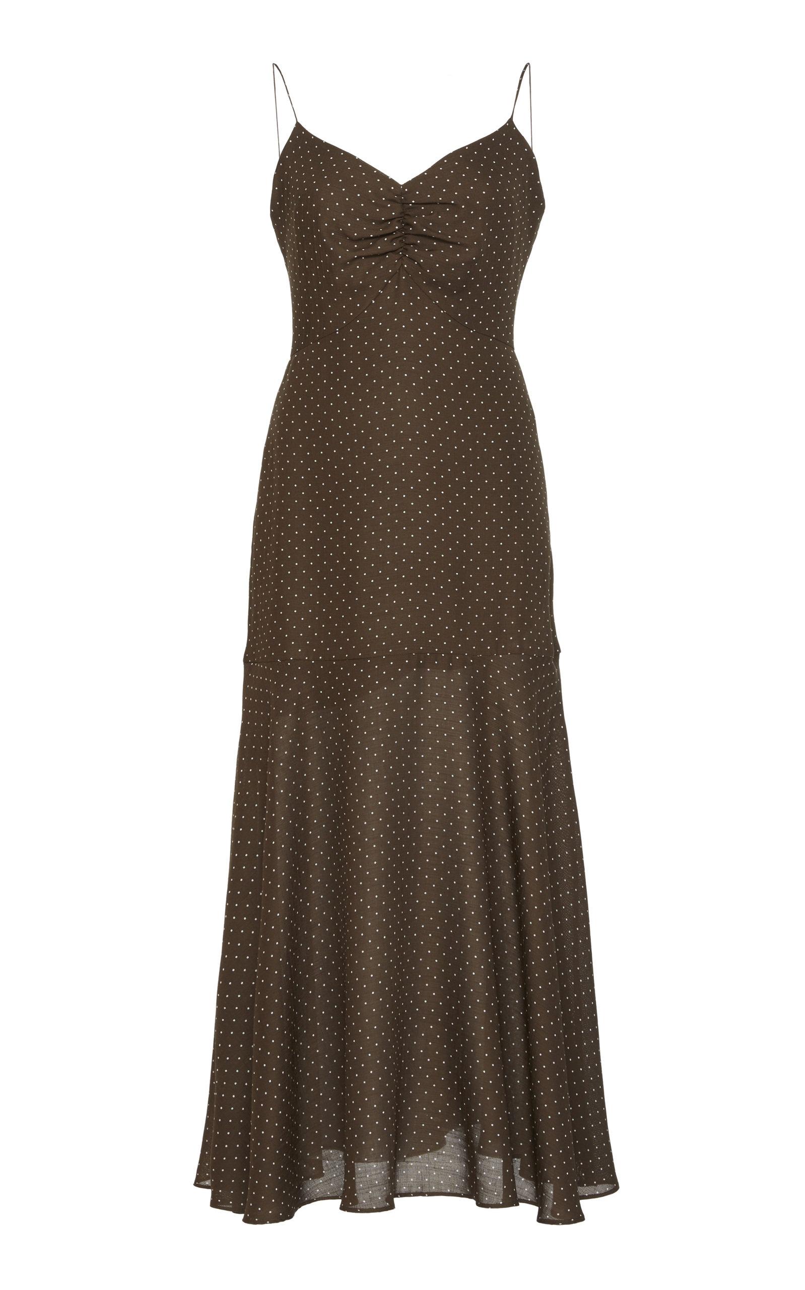 Buy Alexis Nizarra Polka Dot Dress online, shop Alexis at the best price