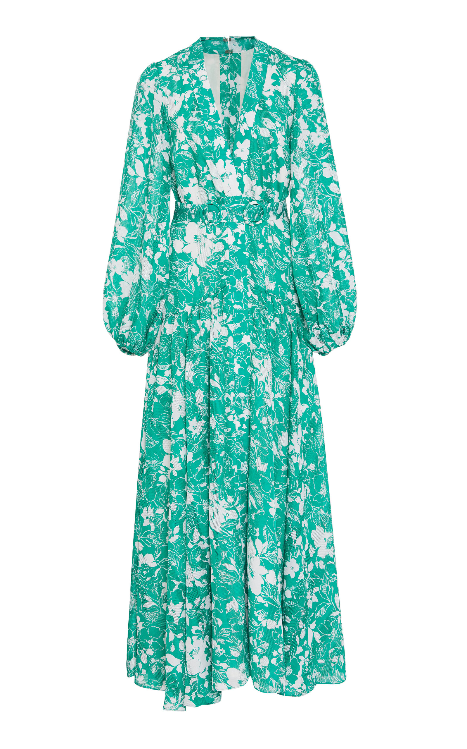 Buy Alexis Kazmera Printed Crepe Dress online, shop Alexis at the best price