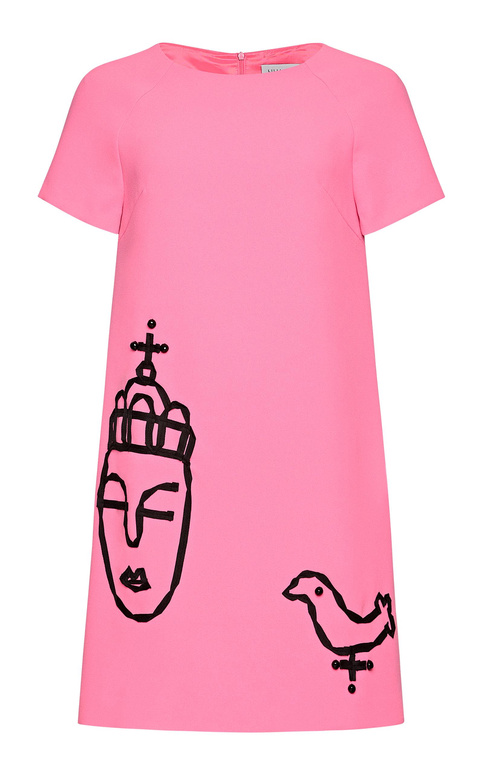Buy Lilli Jahilo Bronte Mini Dress With Ribbon Embellishment online, shop Lilli Jahilo at the best price