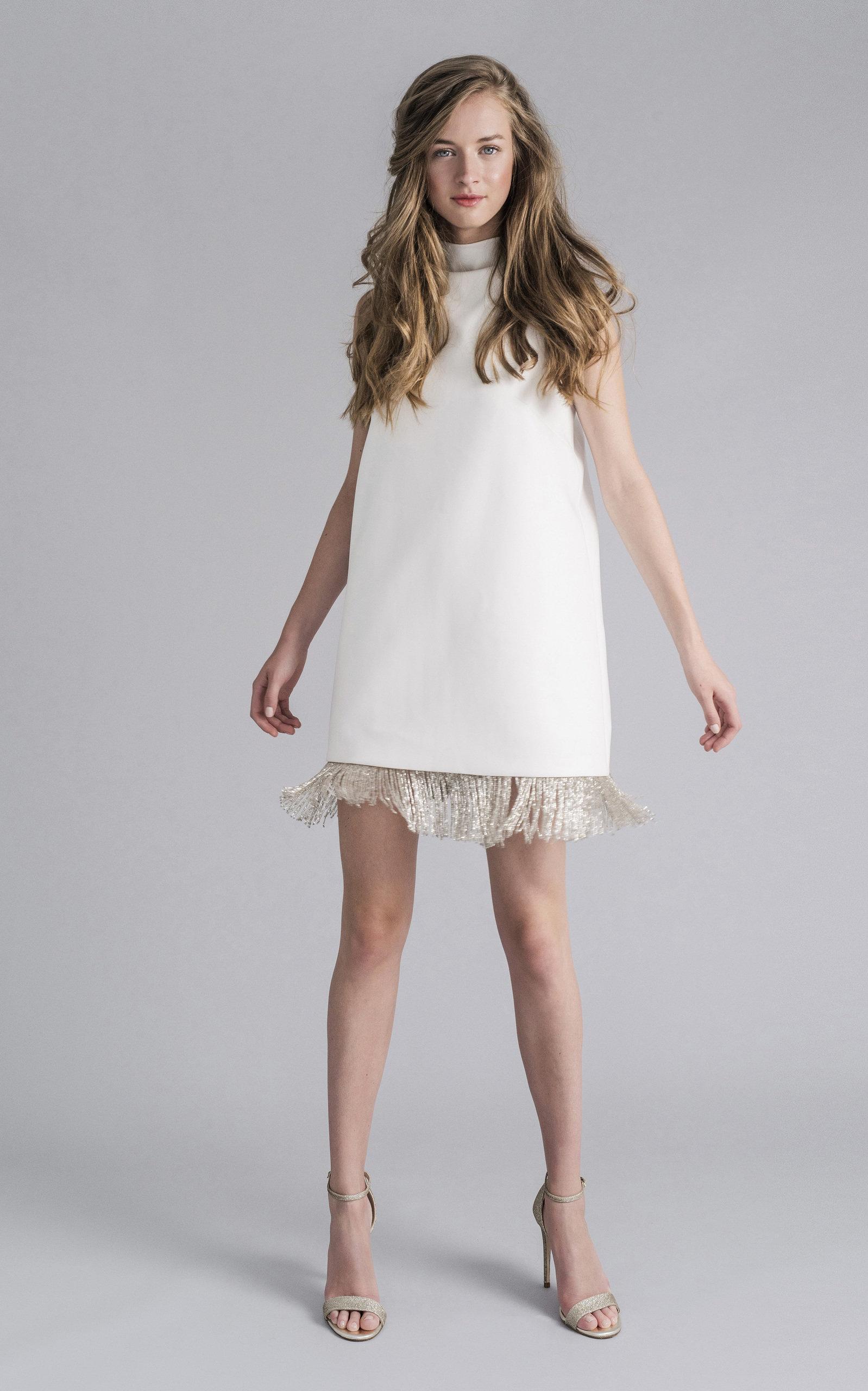 Buy Sophie et Voila Mini Halter Neck Fringe Dress online, shop Sophie et Voila at the best price