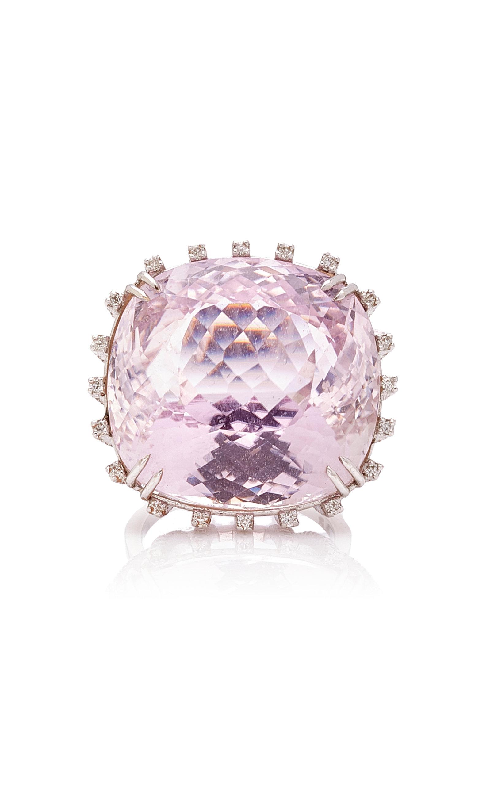 Women's Pink Kunzite Cocktail Ring