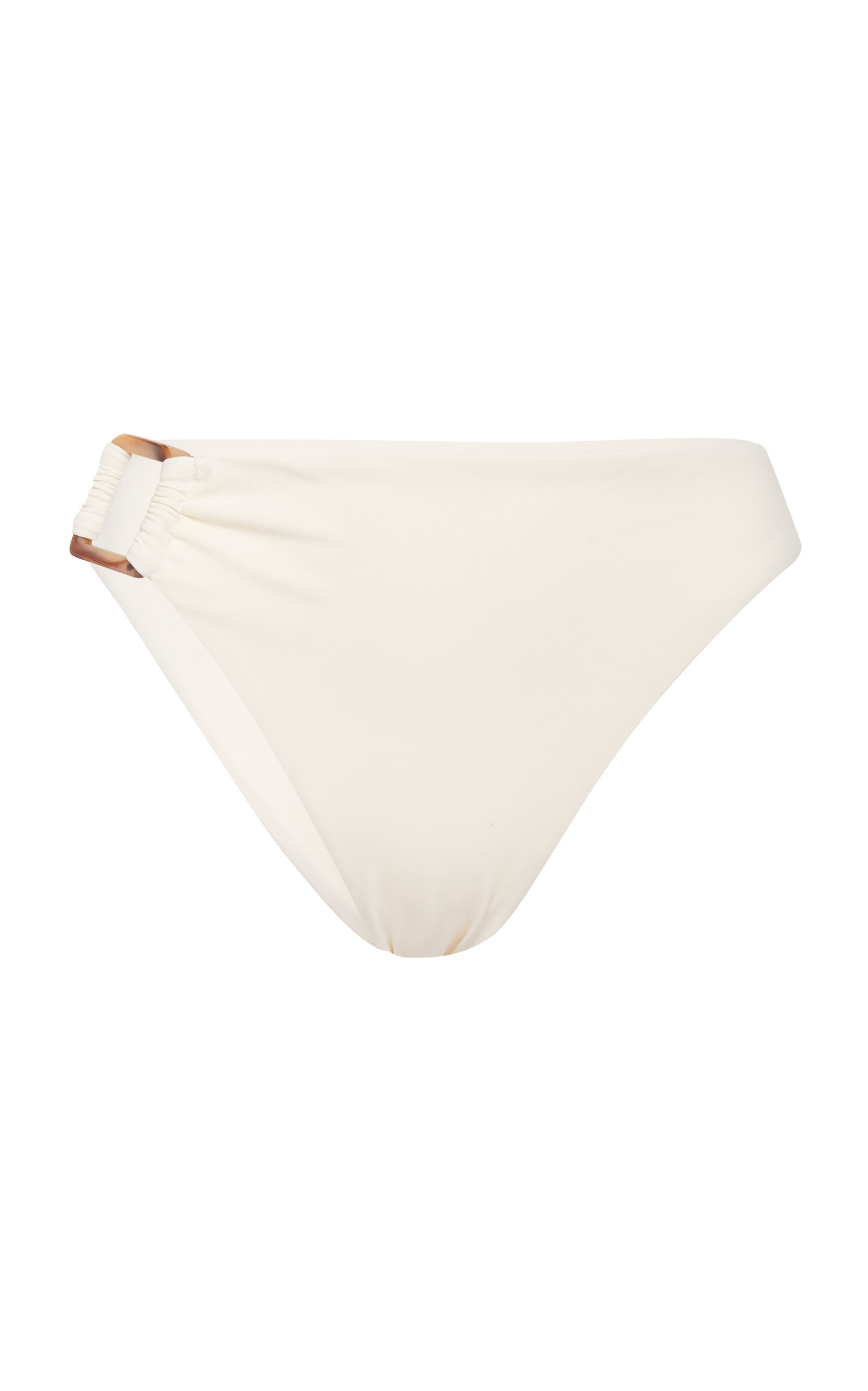 Women's Tortoiseshell-Detailed High-Rise Bikini Bottom