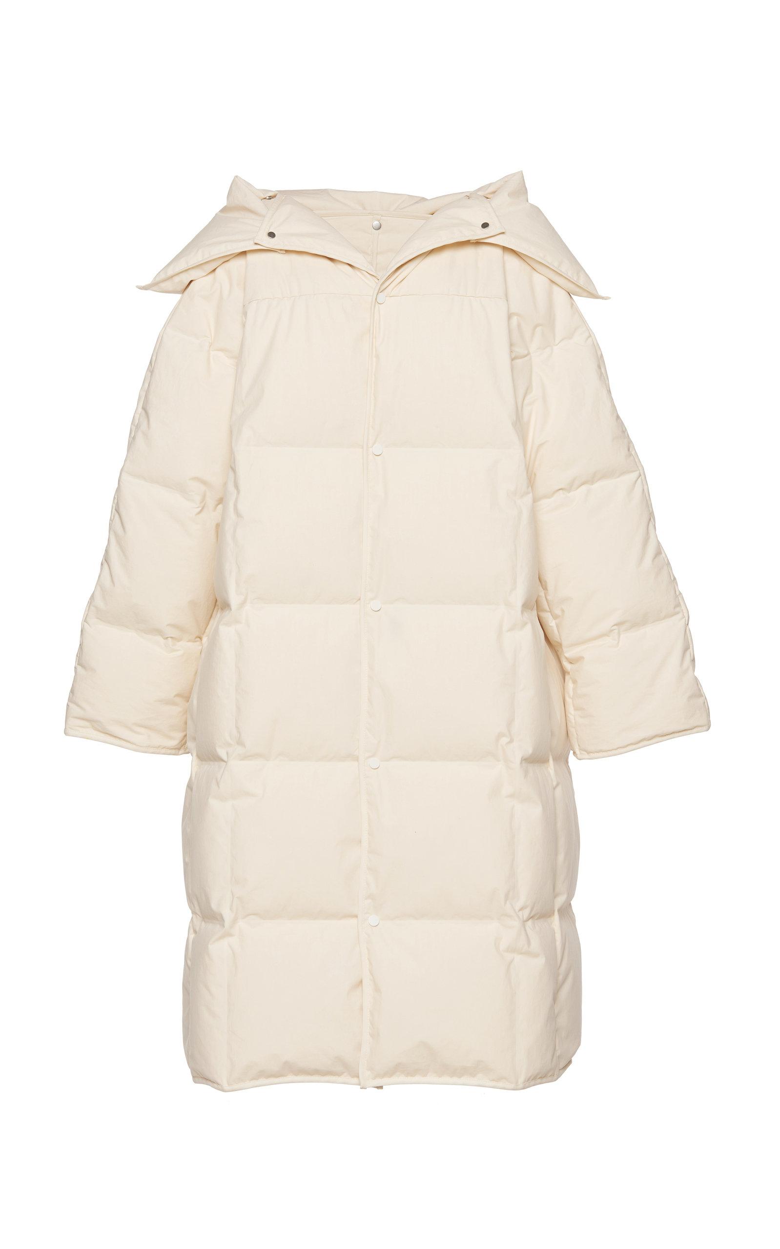 Bottega Veneta – Women's Oversized Cotton Puffer Coat  – White – Moda Operandi