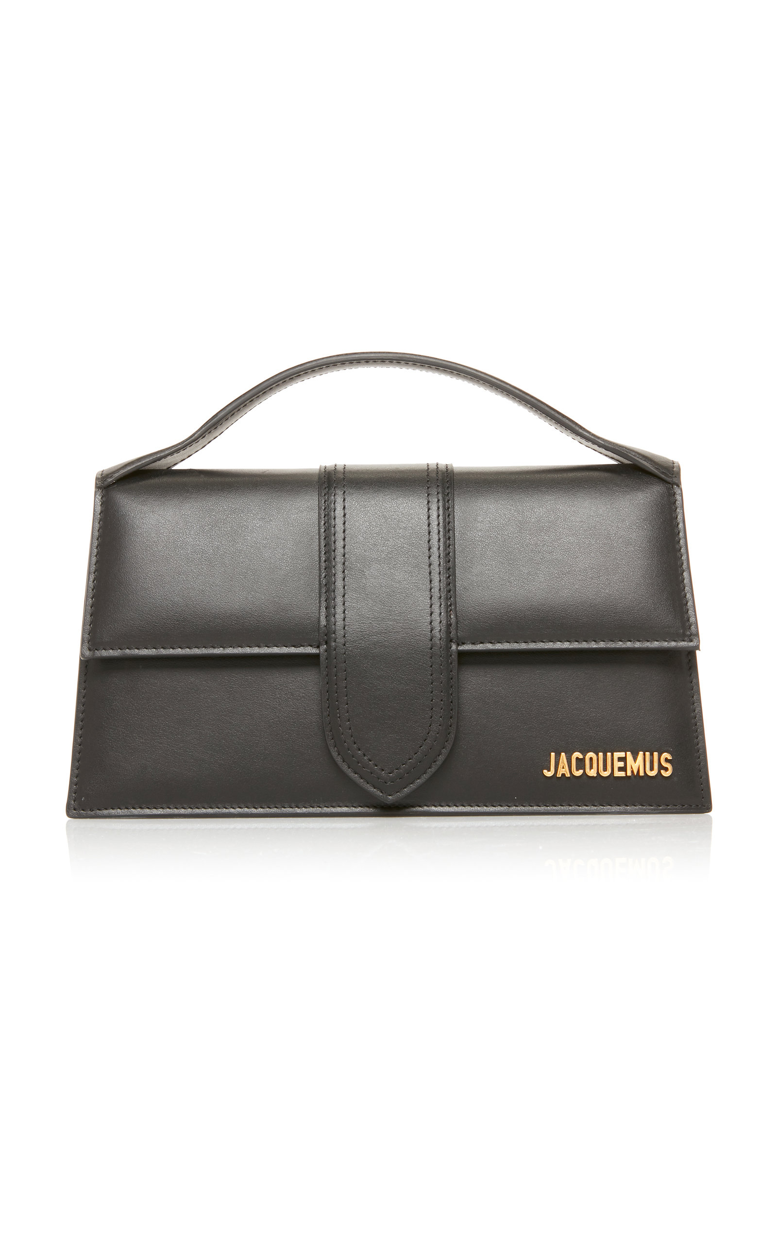 Jacquemus LE GRAND BAMBINO LEATHER TOP HANDLE BAG