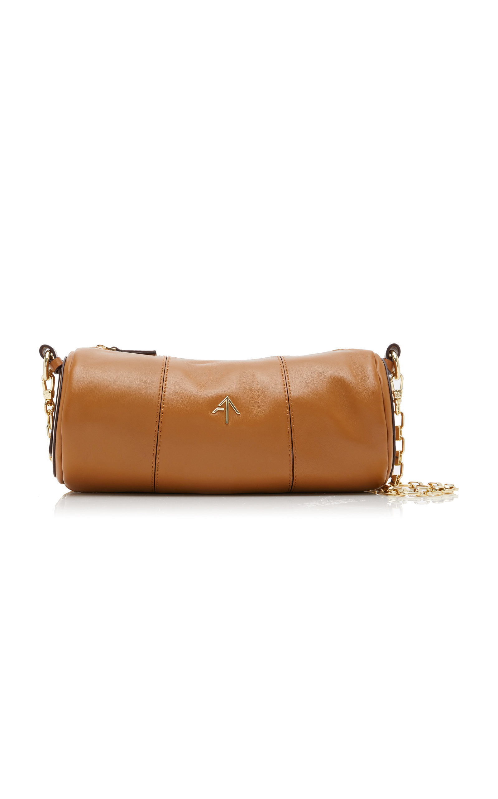 Manu Atelier CYLINDER LEATHER SHOULDER BAG