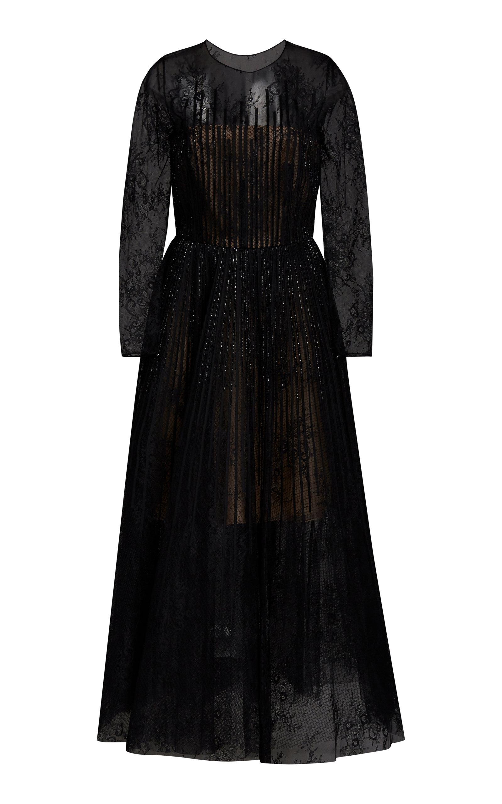 Buy Oscar de la Renta Bead-Embellished Lace Cocktail Dress online, shop Oscar de la Renta at the best price
