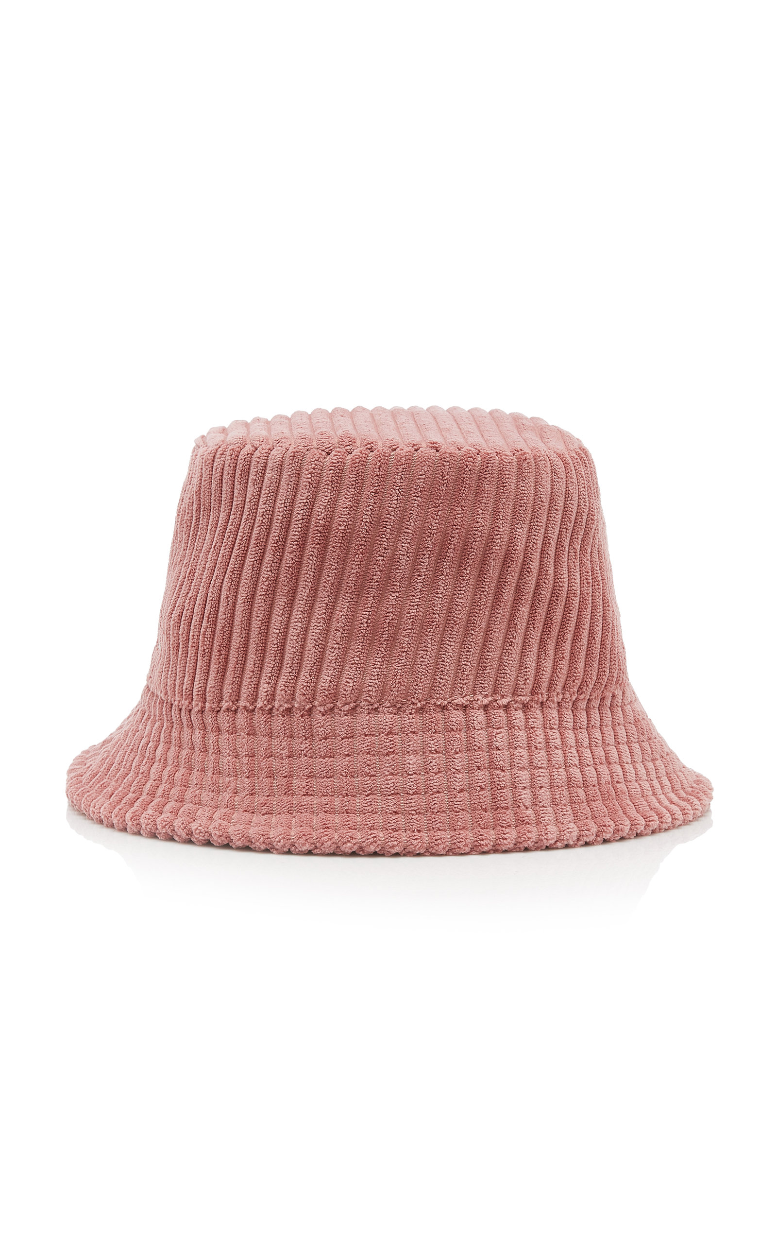 Isabel Marant HALEY LOGO-EMBROIDERED CORDUROY BUCKET HAT