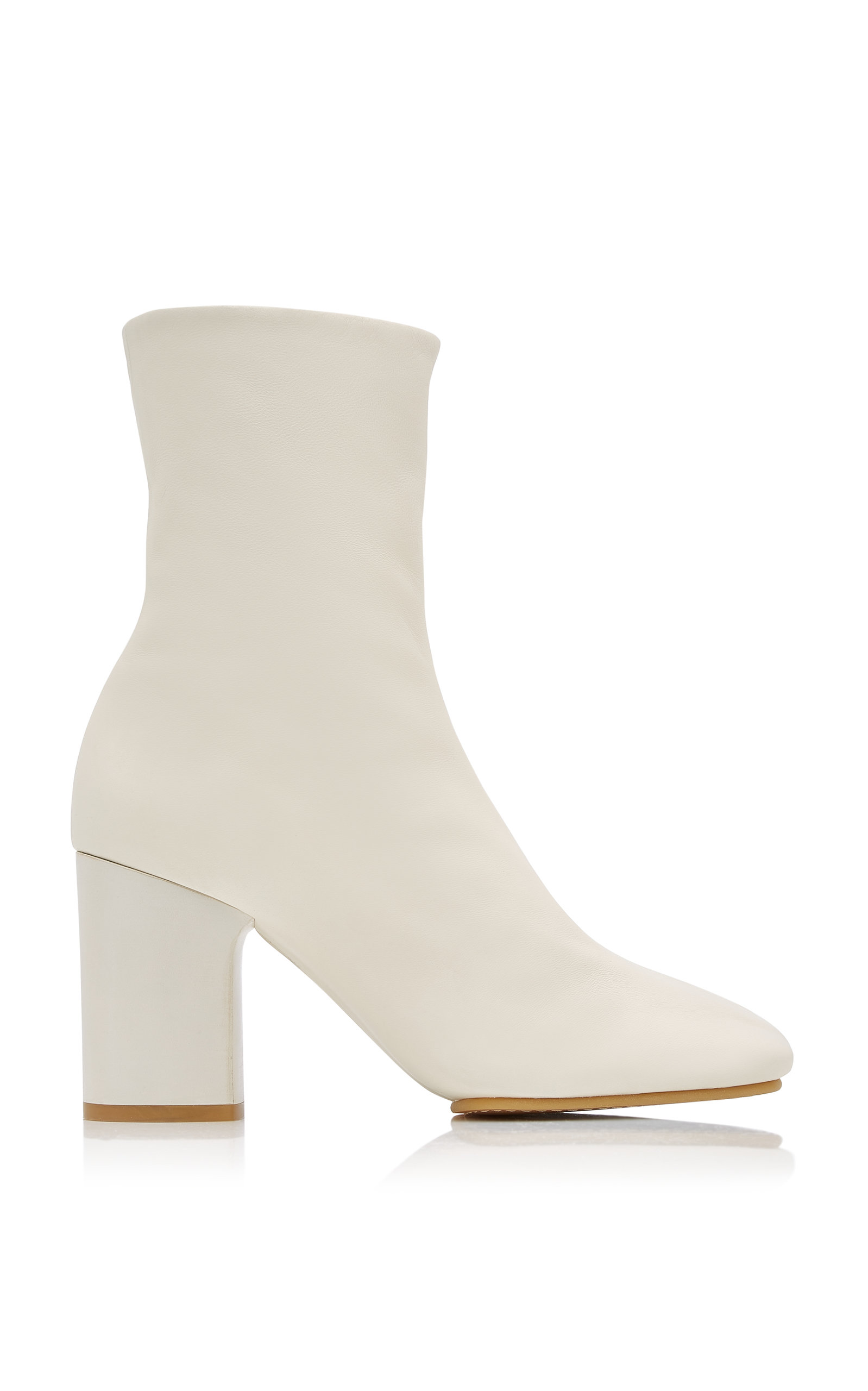 ACNE STUDIOS BATHY LEATHER ANKLE BOOTS