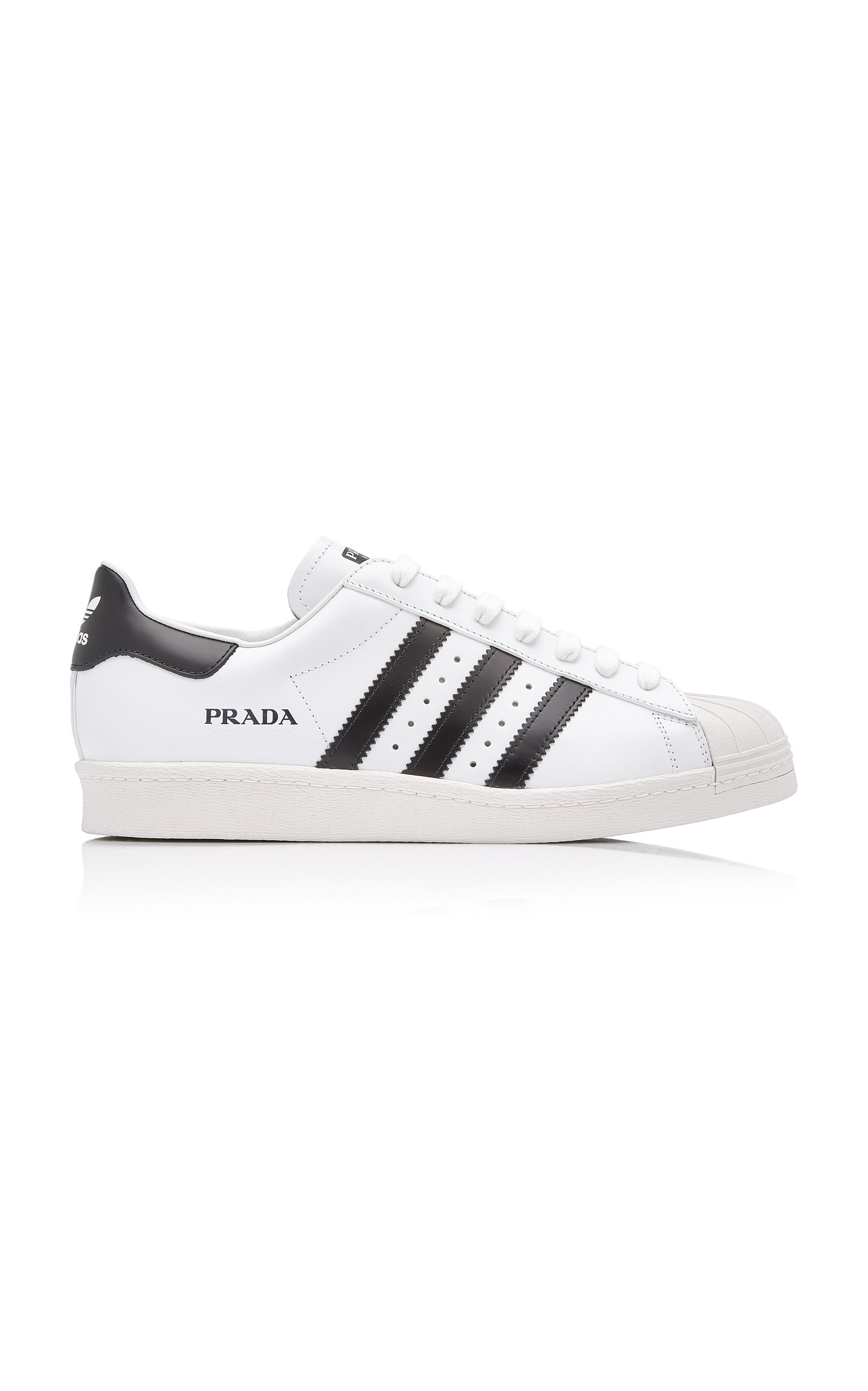 Adidas X Prada Leathers SUPERSTAR LEATHER SNEAKERS