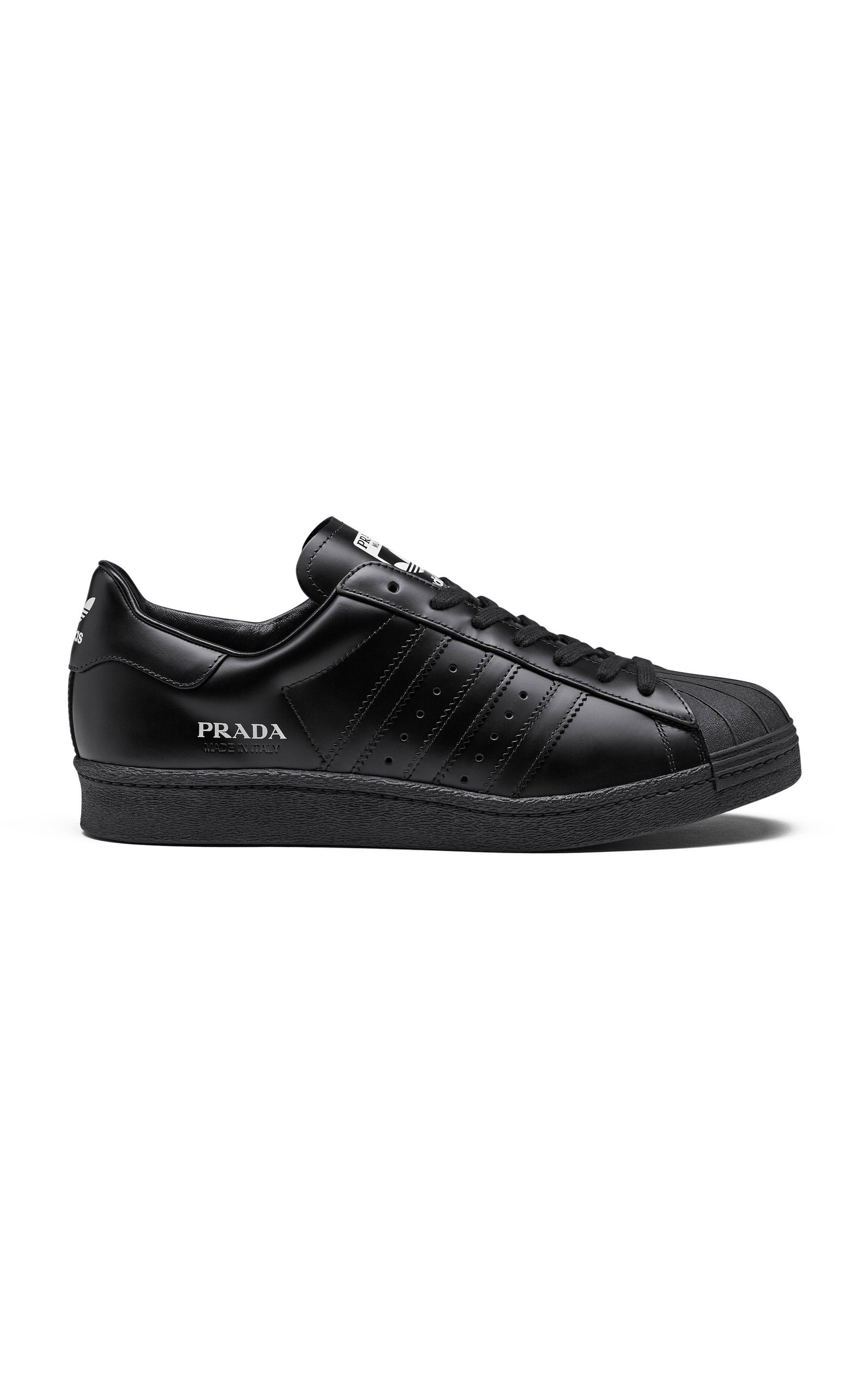 Adidas X Prada SUPERSTAR LEATHER SNEAKERS