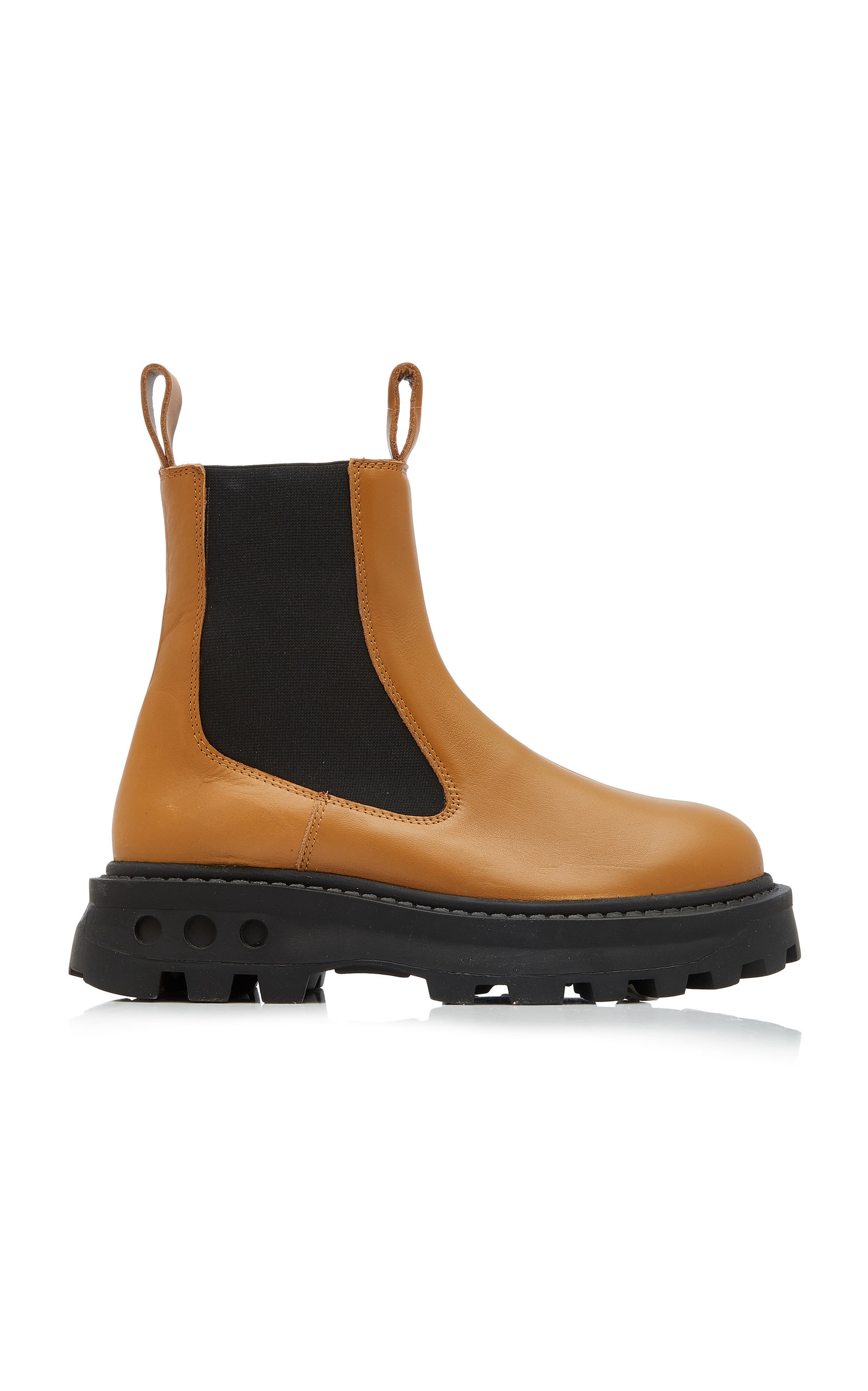 Simon Miller SCRAMBLER LEATHER ANKLE BOOTS