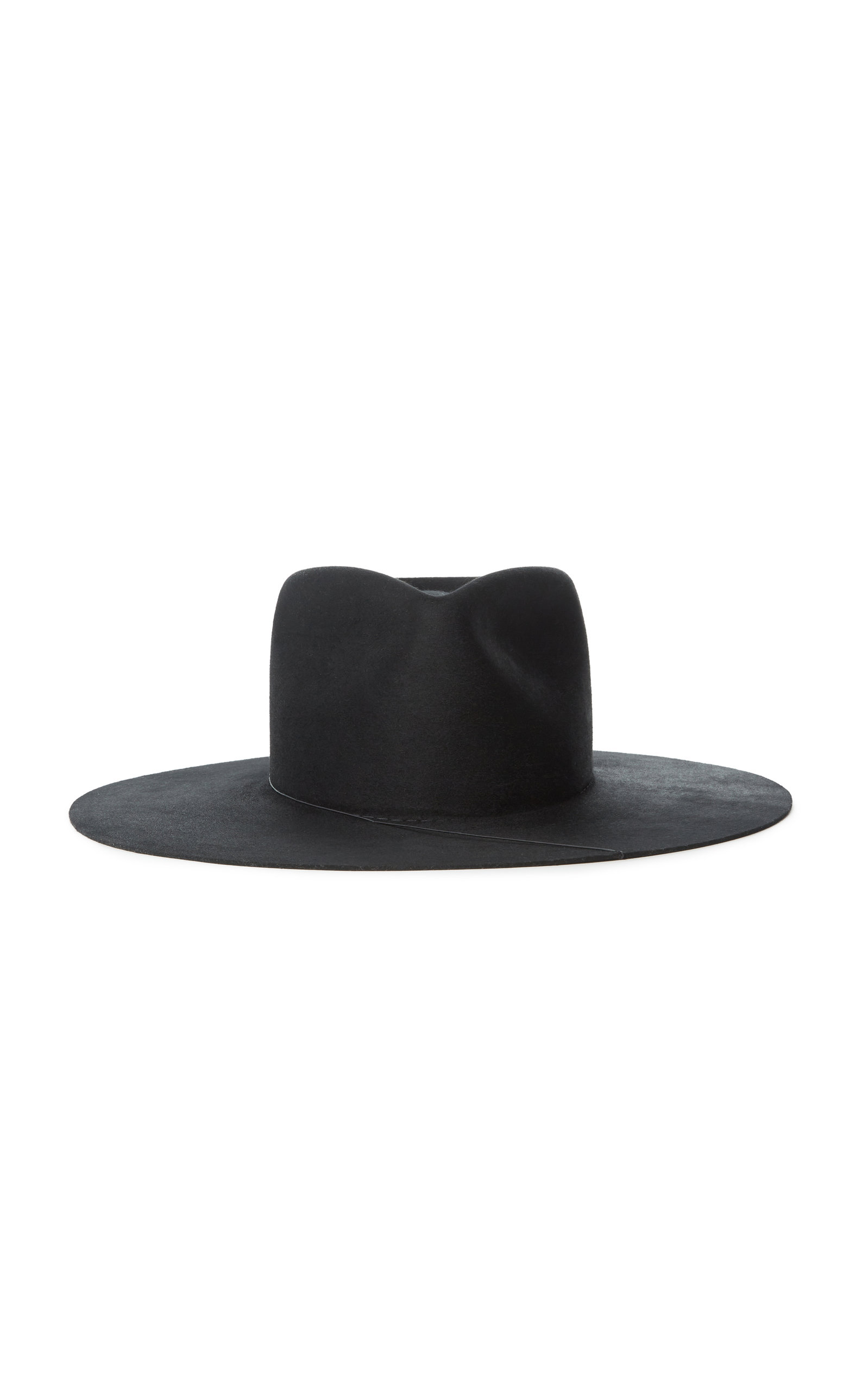 Janessa Leone RUBY WOOL WIDE-BRIM HAT