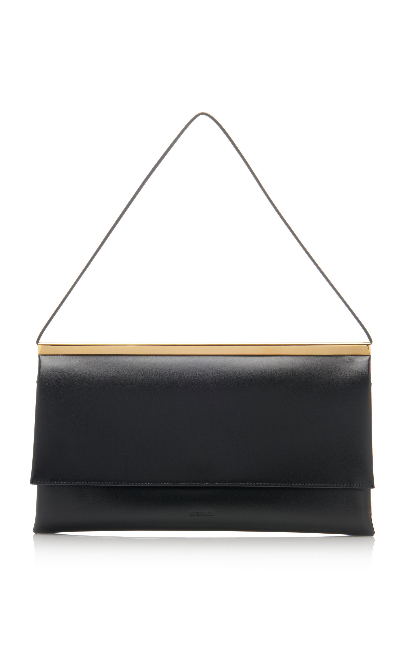 Jil Sander LUCIO LEATHER SHOULDER BAG