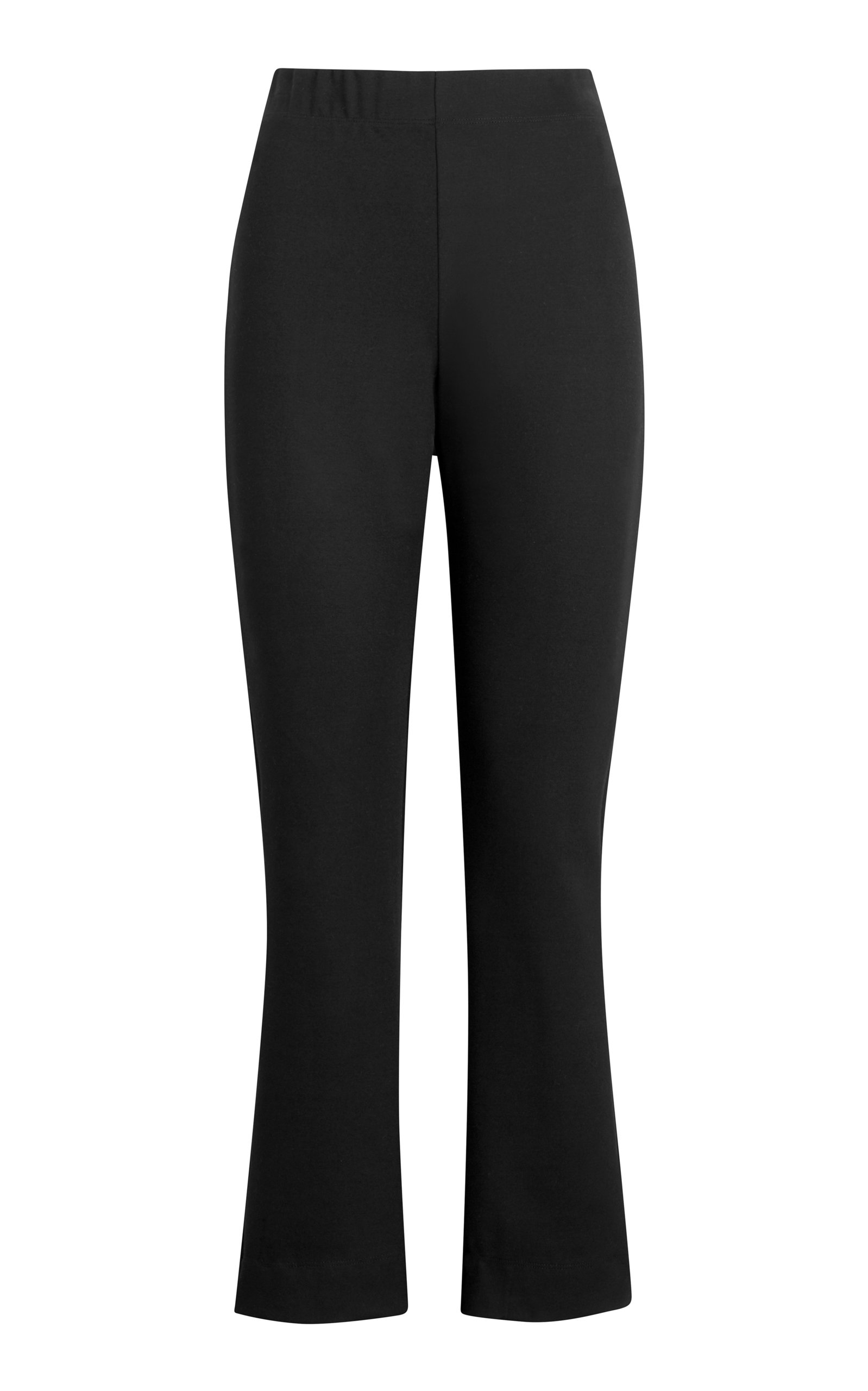 Leset RIO CROPPED CREPE FLARE PANTS