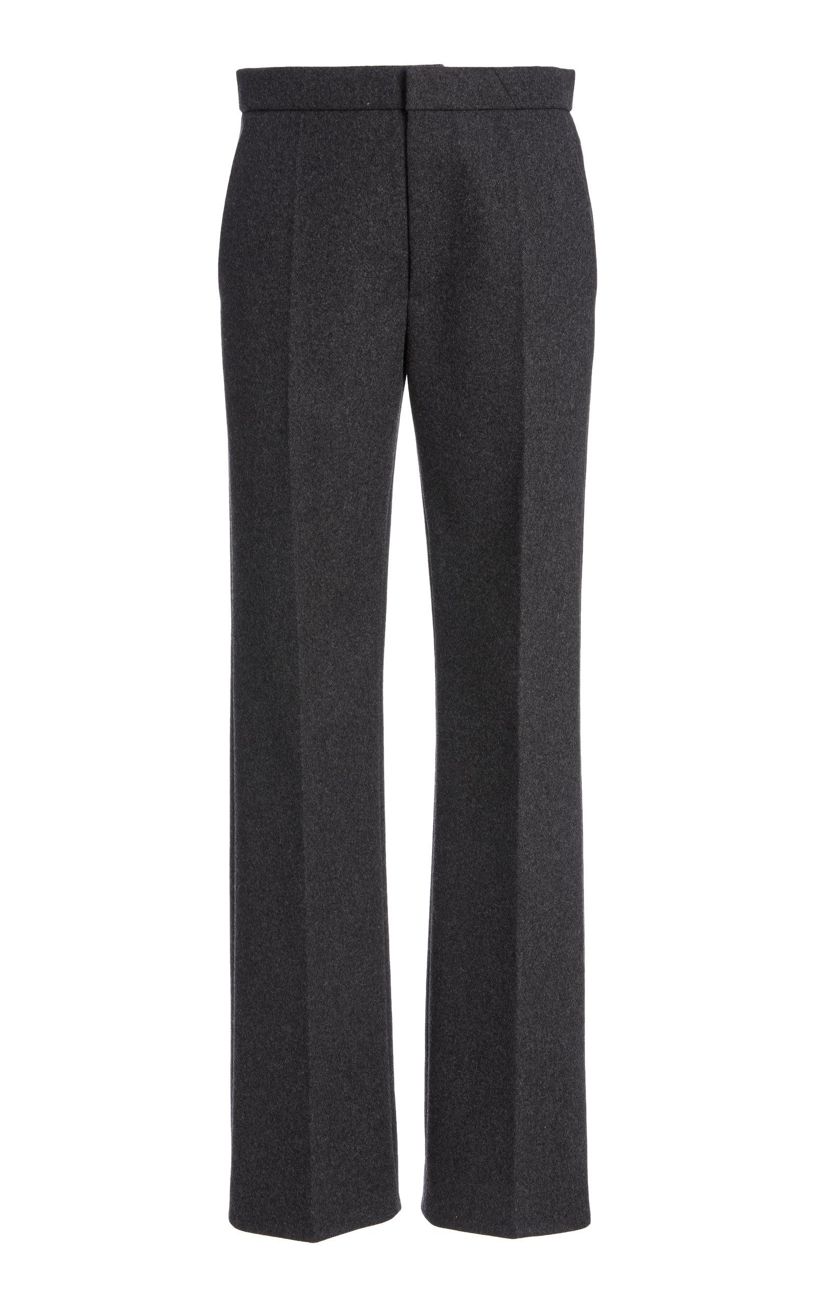 Marc Jacobs РWomen's M̩lange Felt Straight-Leg Pants РGrey РModa Operandi