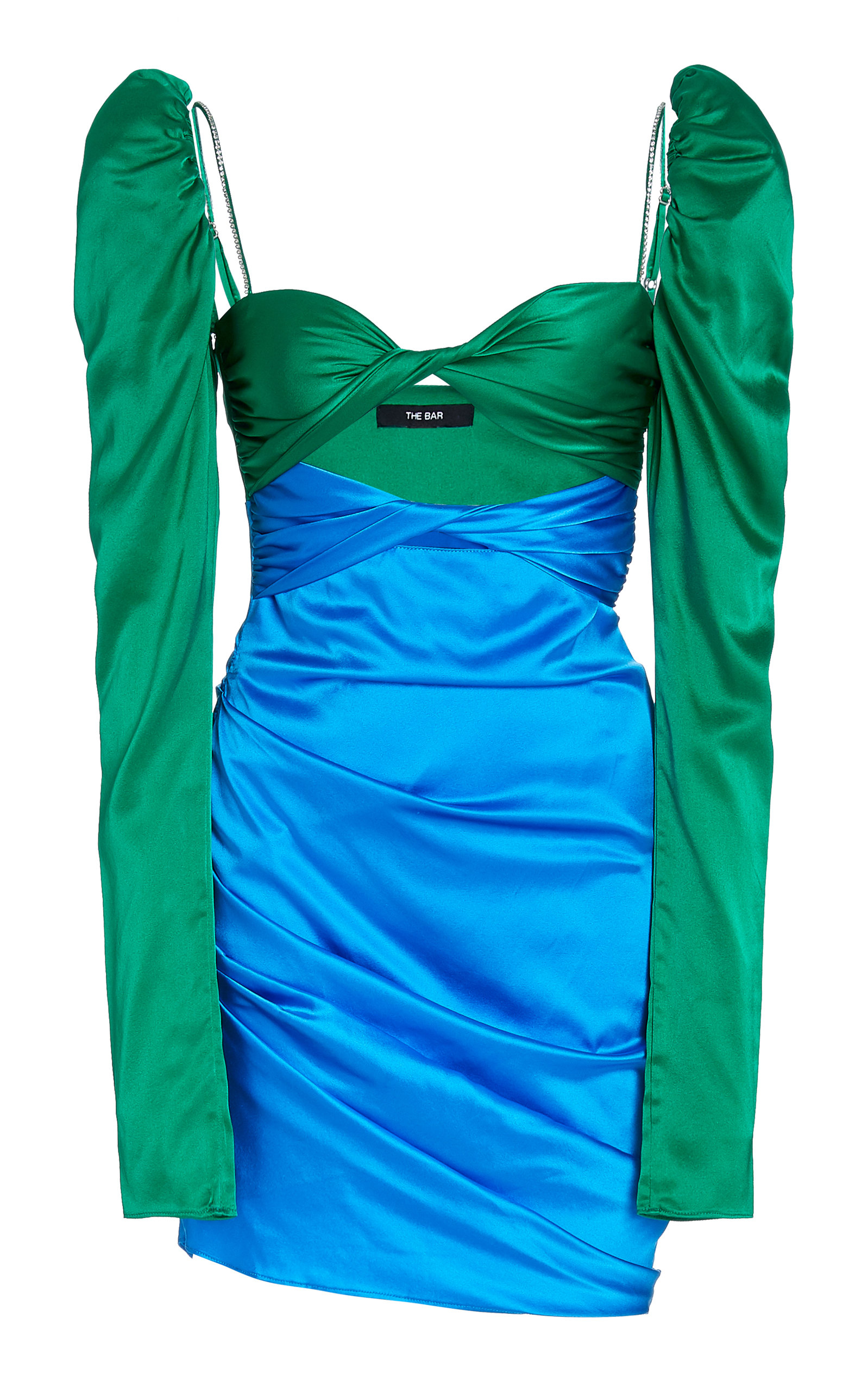 Zeynep Arcay LONG SLEEVE TWIST TOP DRESS